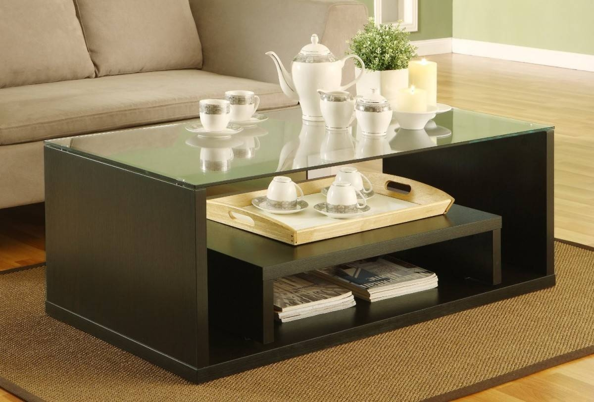 Glass Coffee Tables: Amazing Wooden Coffee Table Designs With inside Modern Coffee Tables With Storage (Image 8 of 15)