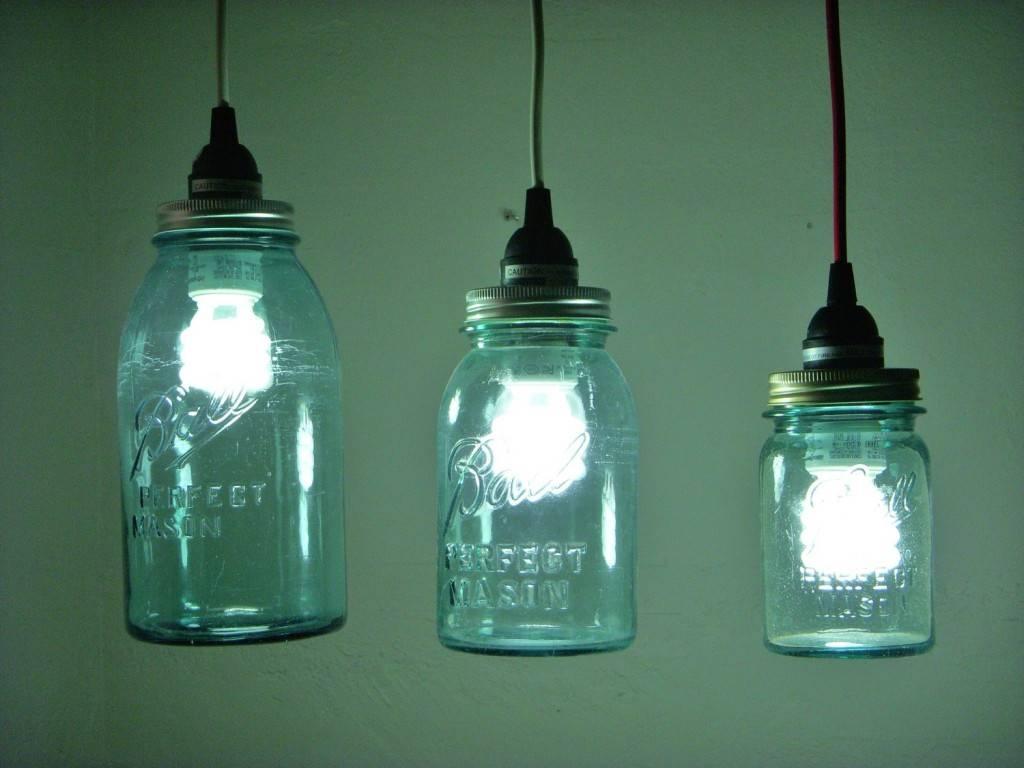 Glass Jar Pendant Light - Baby-Exit intended for Ball Jar Pendant Lights (Image 10 of 15)