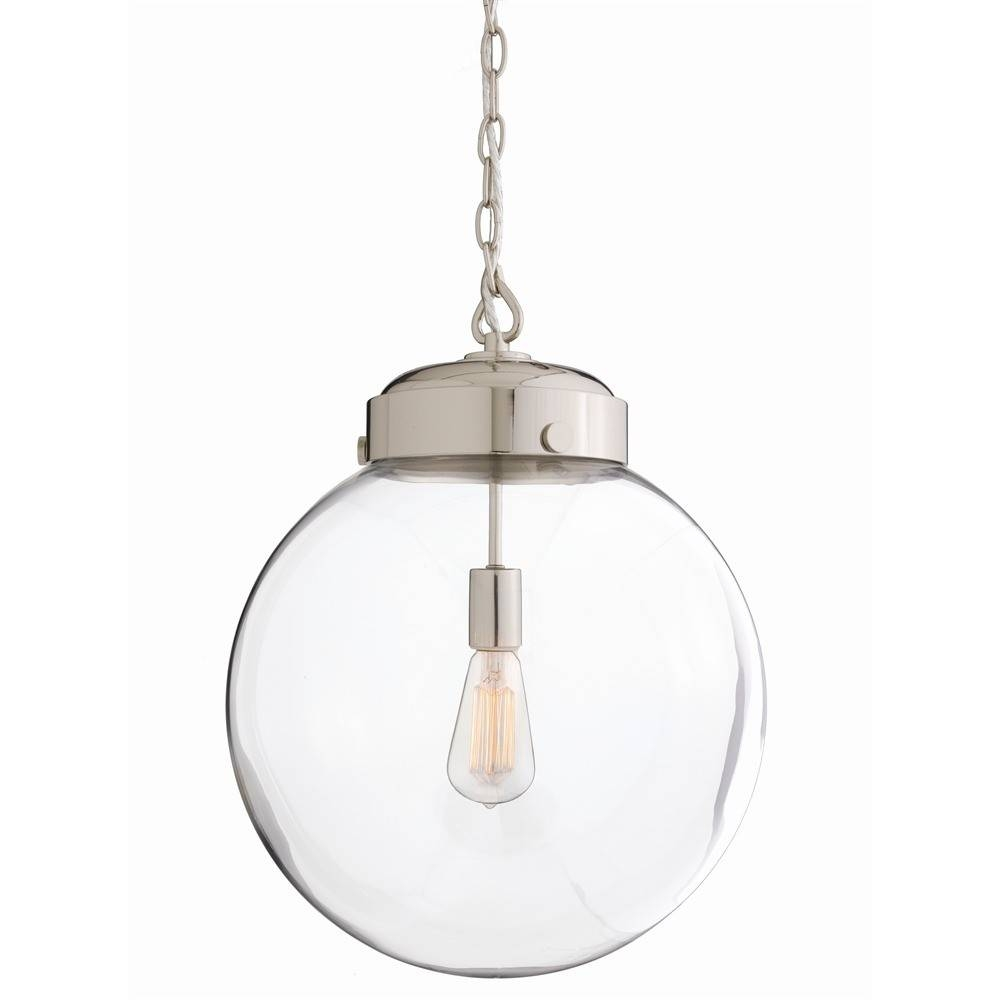Glass Orb Pendant Light - Baby-Exit within Glass Orb Pendant Lights (Image 11 of 15)