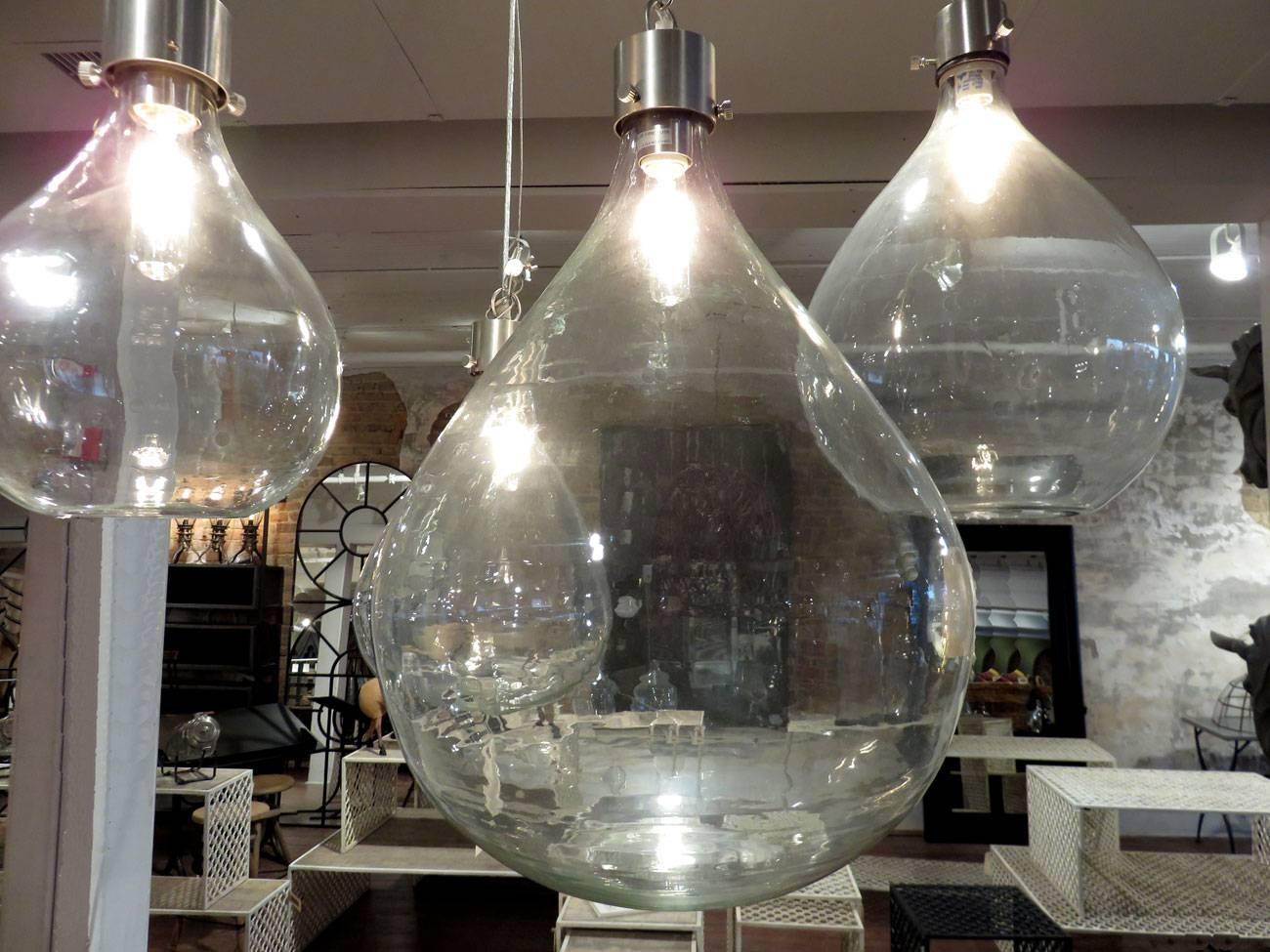 Glass Sphere Pendant Lights - Hudson Goods Blog pertaining to Glass Sphere Pendant Lights (Image 7 of 15)