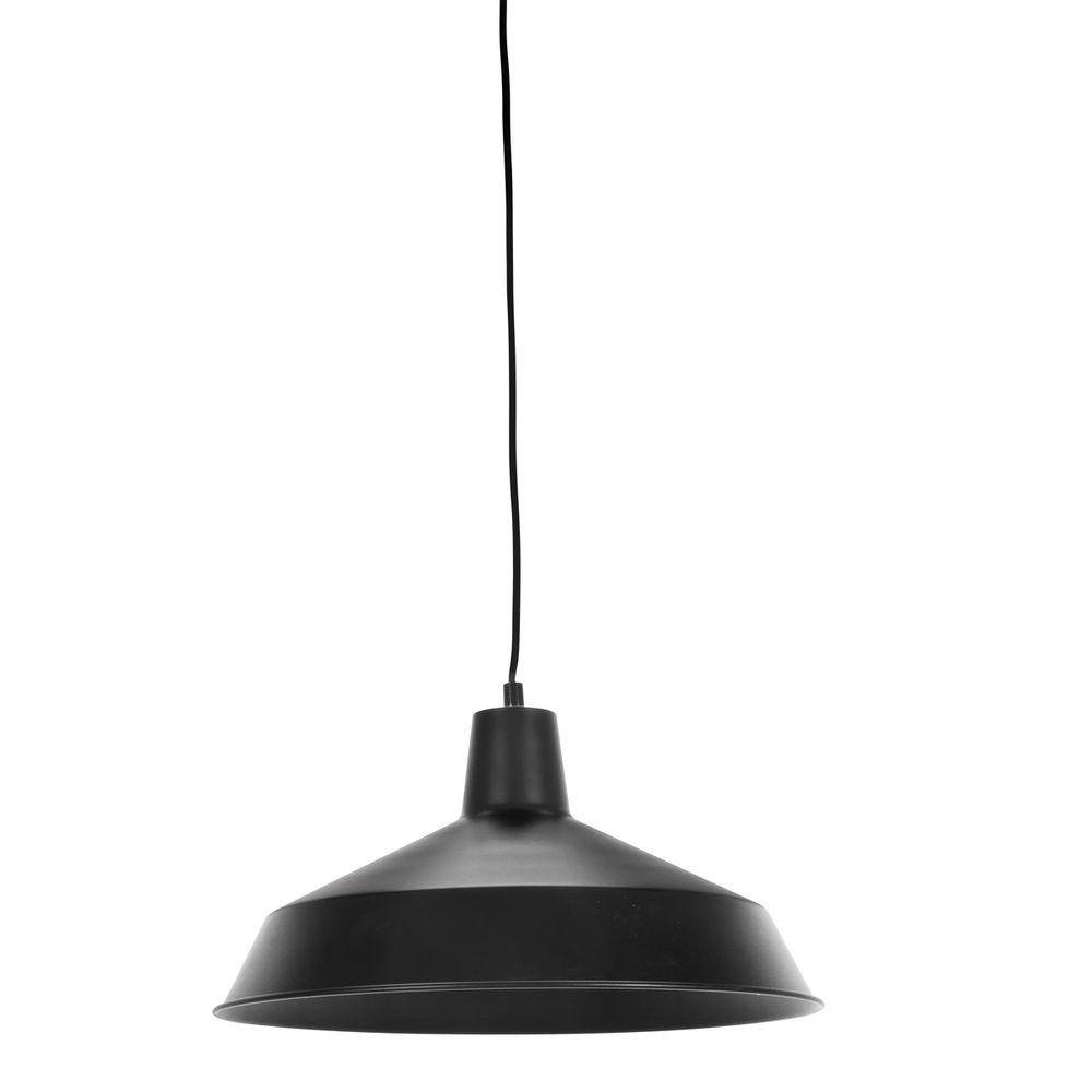 Globe Electric Barnyard 1-Light 16 In. Industrial Warehouse Matte pertaining to Warehouse Pendant Light Fixtures (Image 3 of 15)