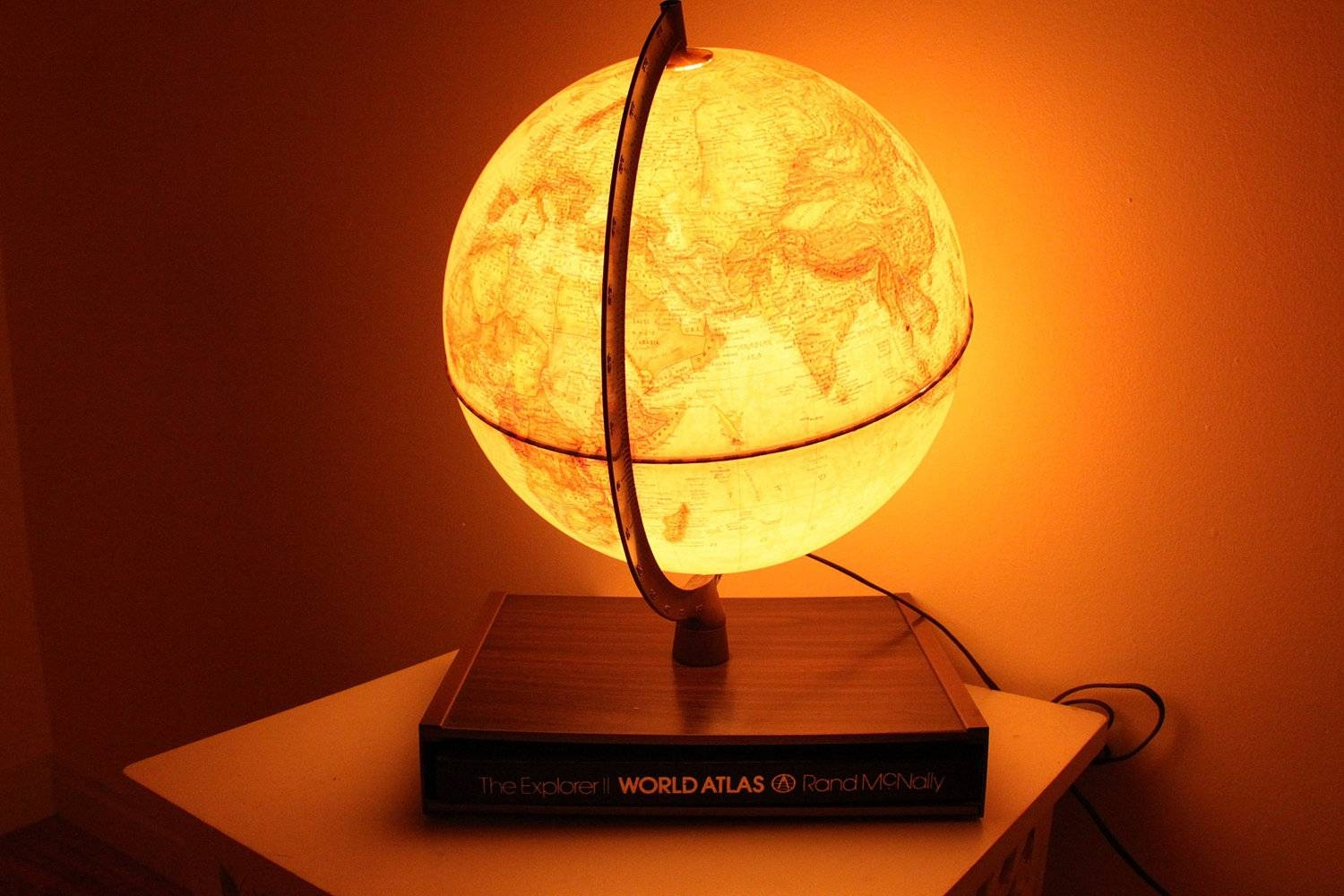 Globe Lamps - 10 Methods To Light Your World Up | Warisan Lighting intended for Earth Globe Lights Fixtures (Image 7 of 15)