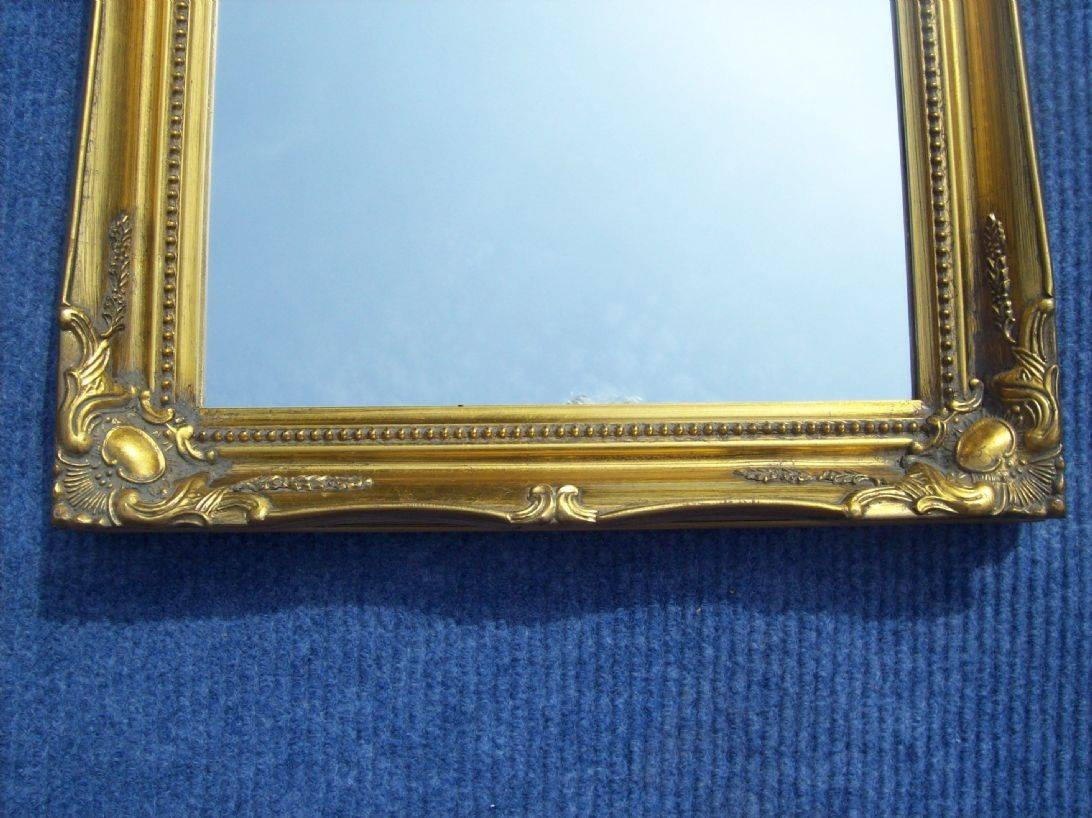 Gold Full Length Dressing Mirror pertaining to Full Length Antique Dressing Mirrors (Image 10 of 15)