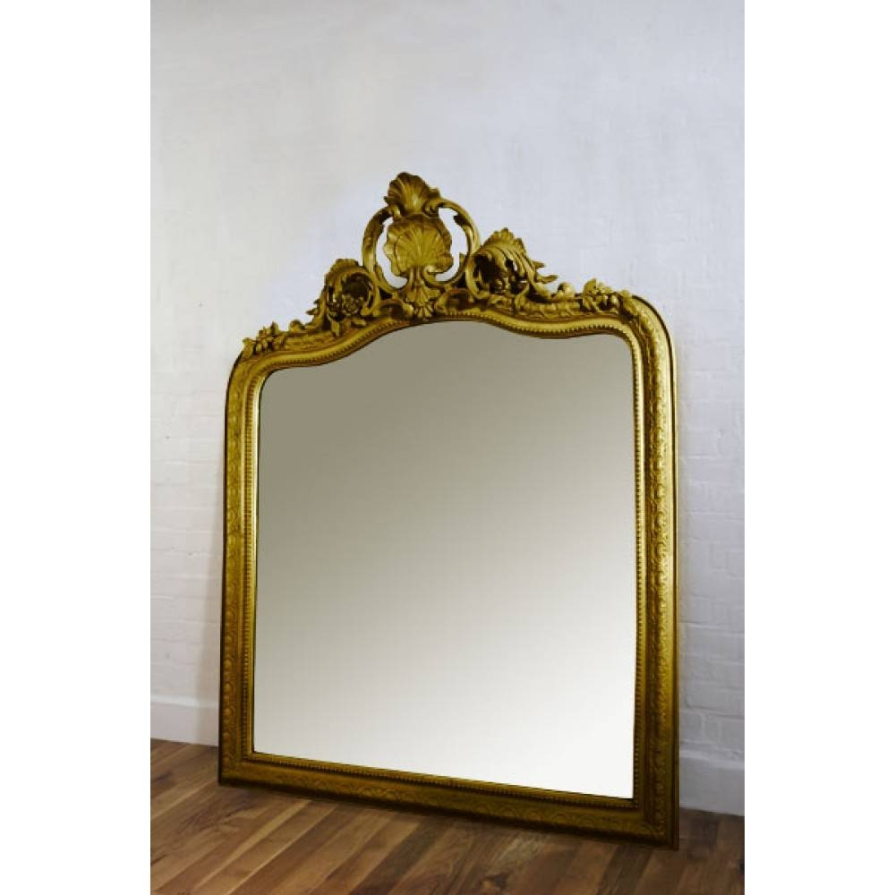 Gold Mirrors throughout Gold Gilt Mirrors (Image 7 of 15)