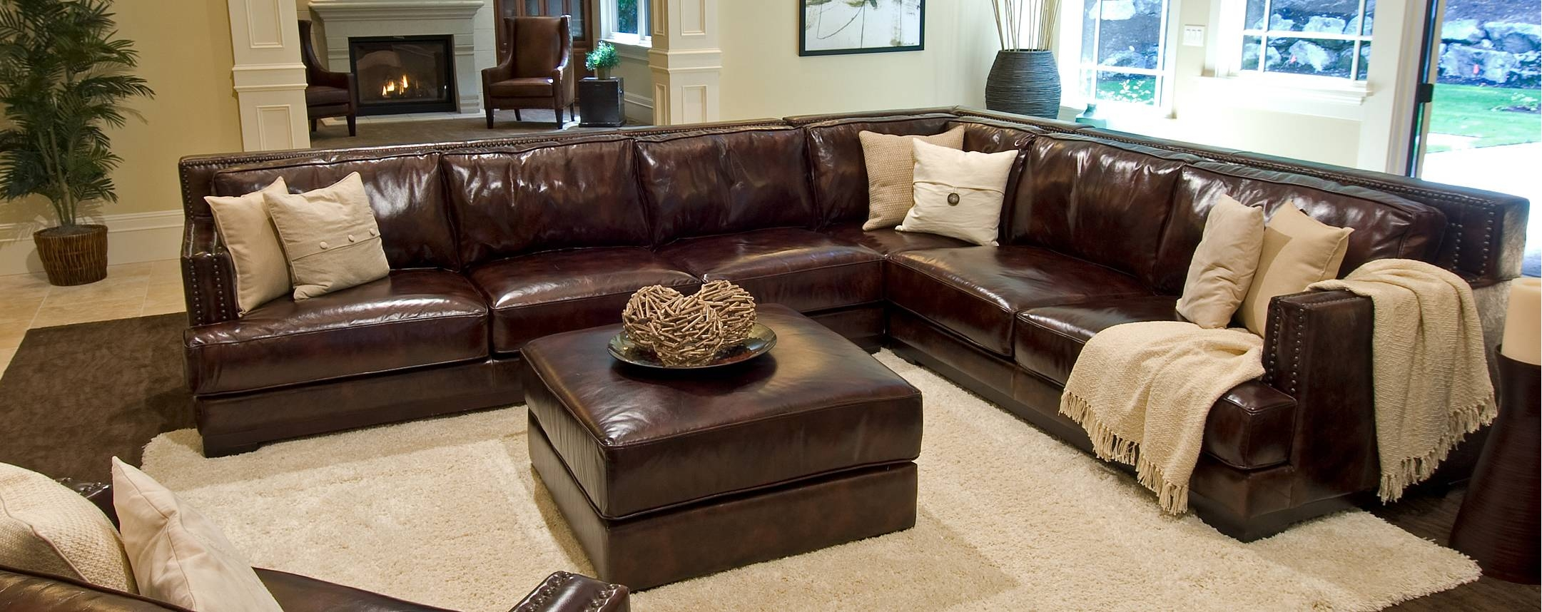 Good Large Sectional Leather Sofas 93 In Jennifer Sofas And pertaining to Jennifer Sofas And Sectionals (Image 9 of 15)