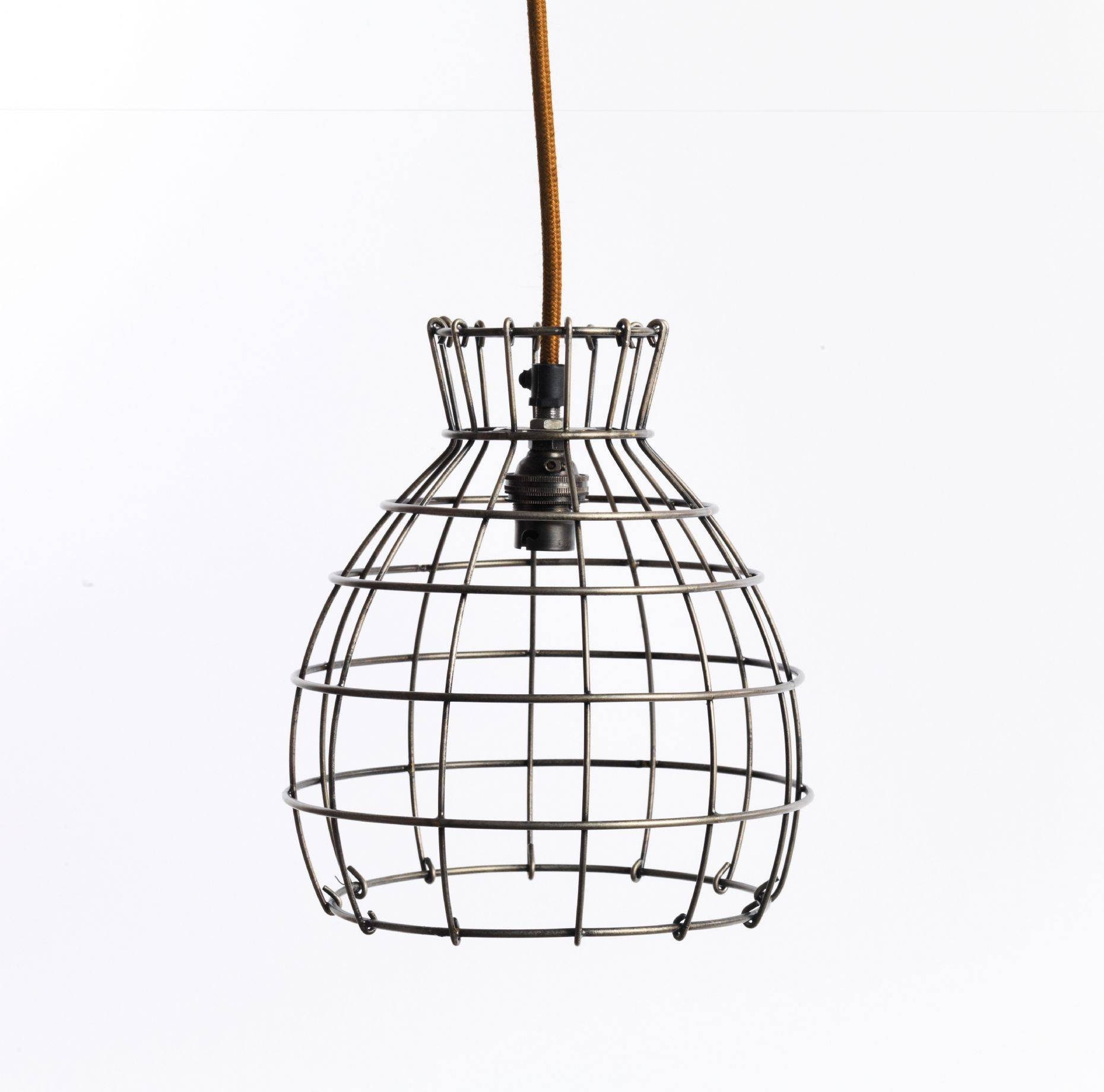 Gorgeous Wire Pendant Light In House Decorating Plan Light Wire Intended For Chicken Wire Pendant Lights (View 8 of 15)