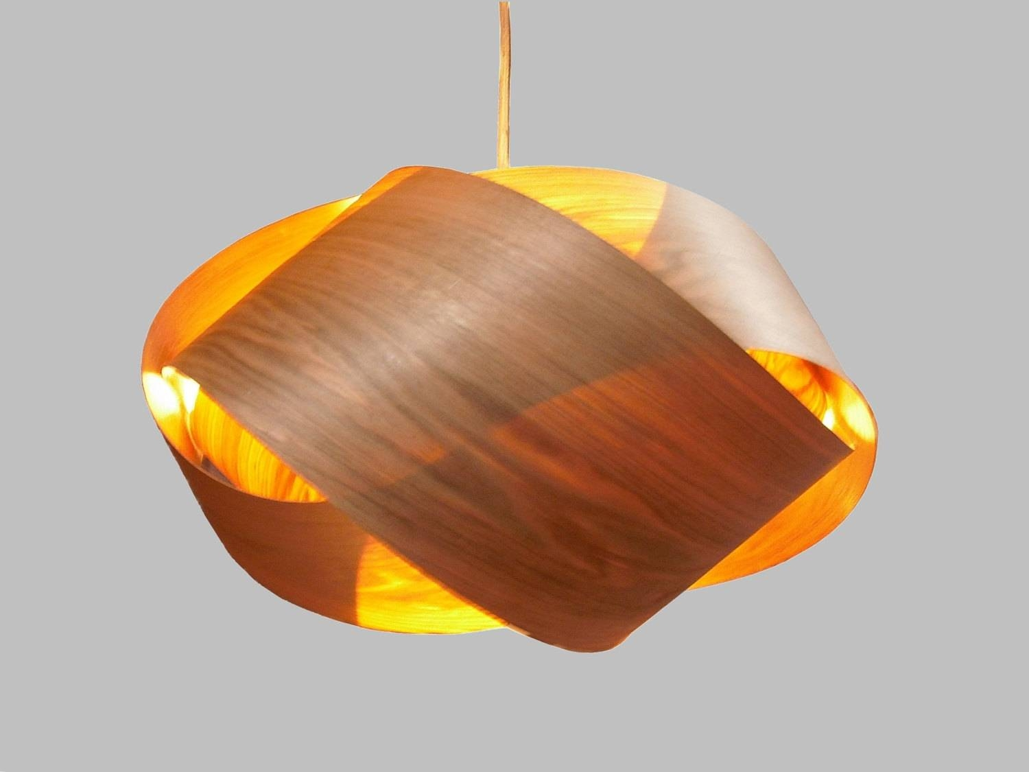 Featured Photo of Wood Veneer Pendant Lights