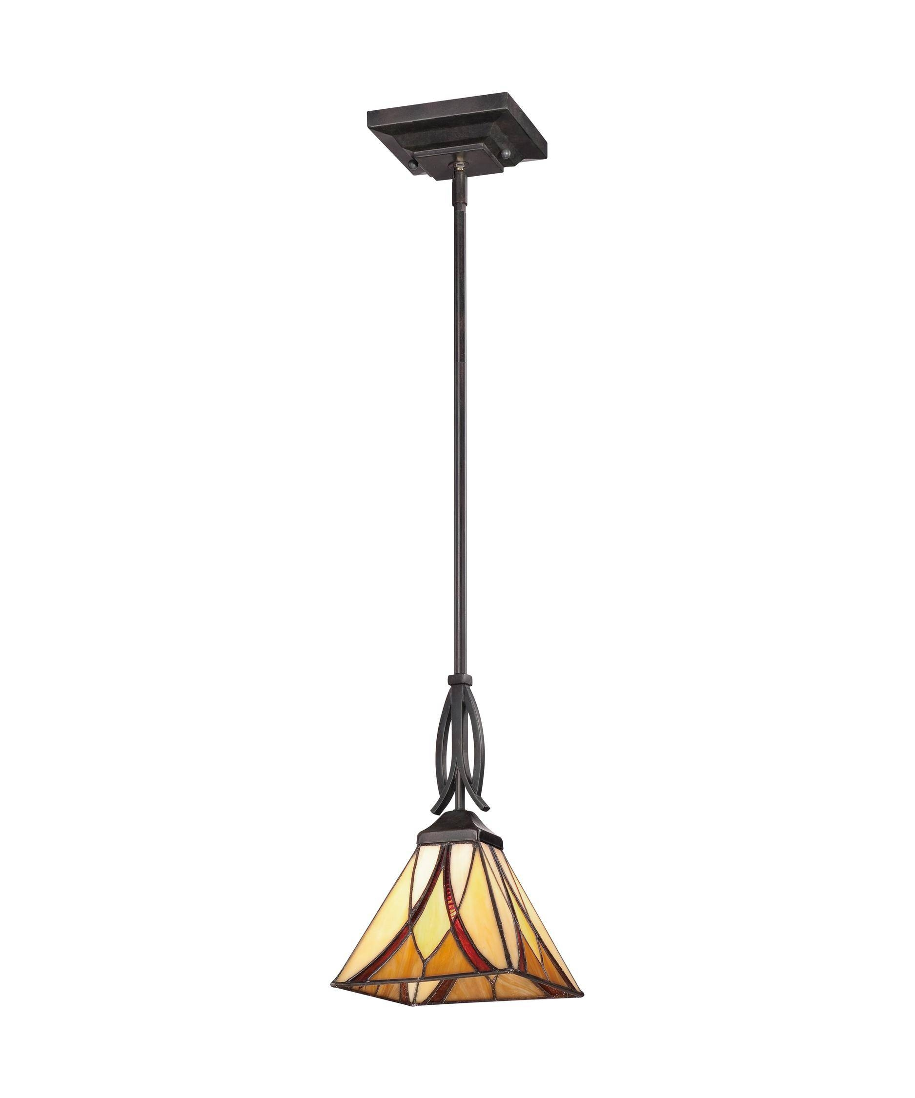 Great Mission Style Pendant Lights 54 With Additional Hunter in Mission Style Pendant Lights (Image 5 of 15)