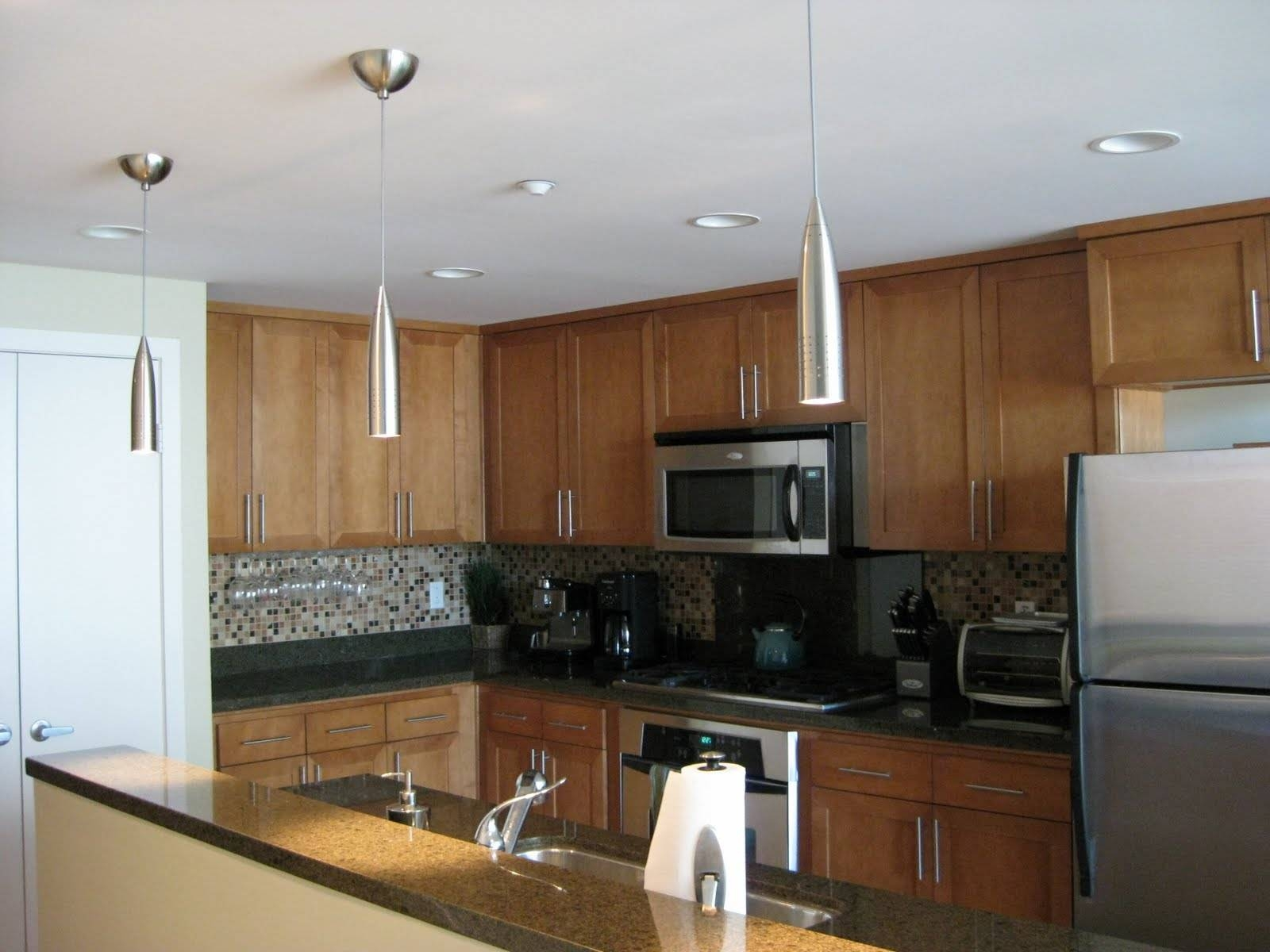 Great Pendant Light Fixtures For Kitchen Island — Decor Trends inside Stainless Steel Kitchen Lights (Image 6 of 15)