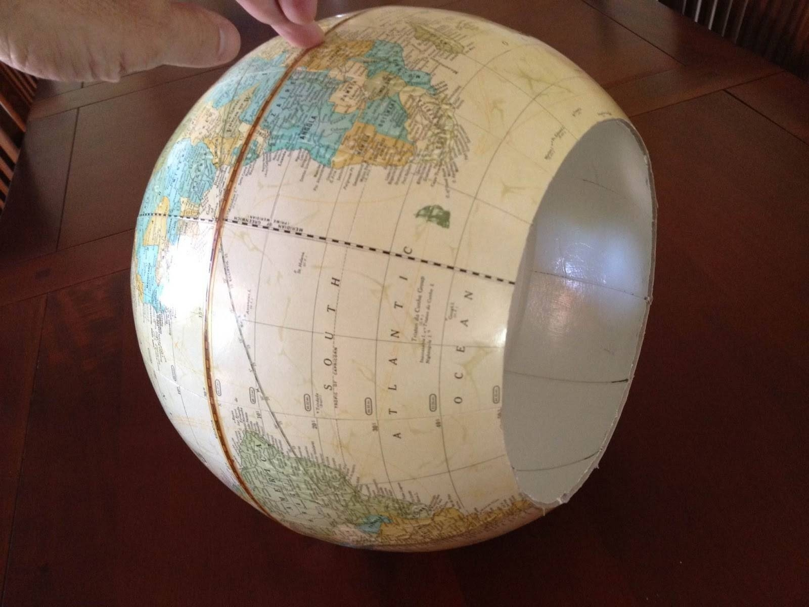 Greener Lives: The Best Diy World Globe Pendant Light with regard to World Globe Lights Fixtures (Image 9 of 15)