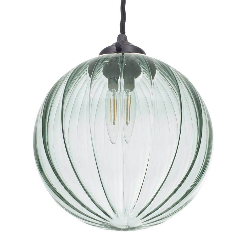 Greeny Blue | Coloured Glass | Fulbourn Pendant Light | Jim Lawrence Pertaining To Coloured Glass Pendant Light (View 10 of 15)