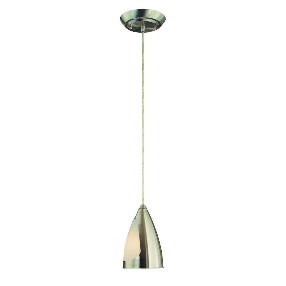 Halogen - Stainless Steel - Pendant Lights - Hanging Lights - The within Halogen Mini Pendant Lights (Image 7 of 15)
