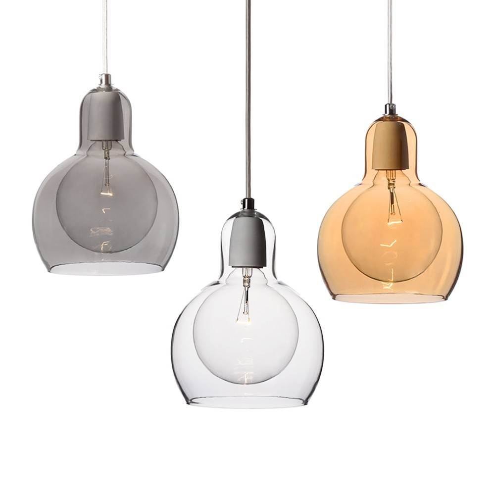 Hand Blown Glass Mini Pendant Lights - Baby-Exit regarding Blown Glass Pendant Lighting For Kitchen (Image 10 of 15)