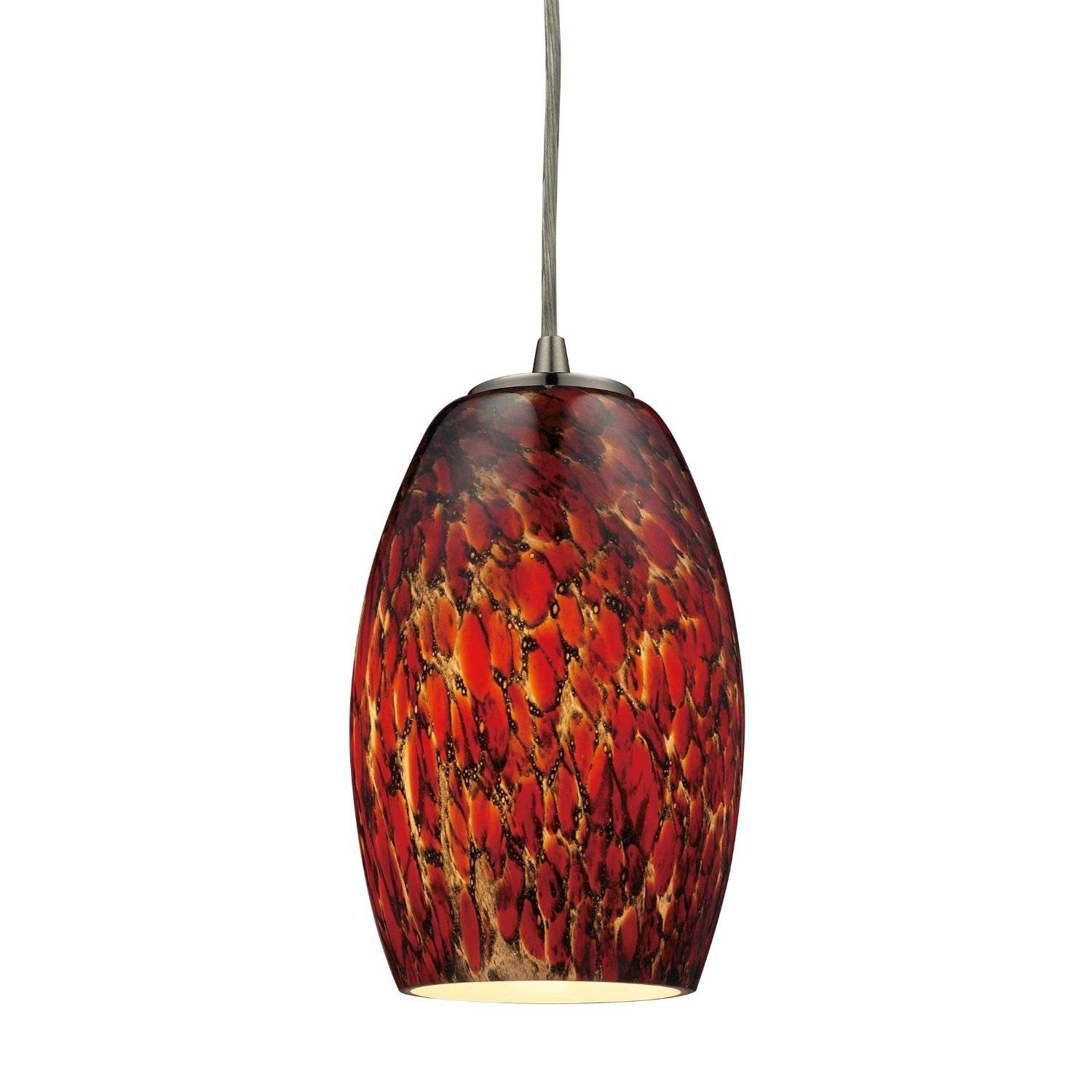 Hand Blown Glass Pendant Lights. Bubble Clear Hand Blown Glass inside Hand Blown Glass Lights Fixtures (Image 11 of 15)