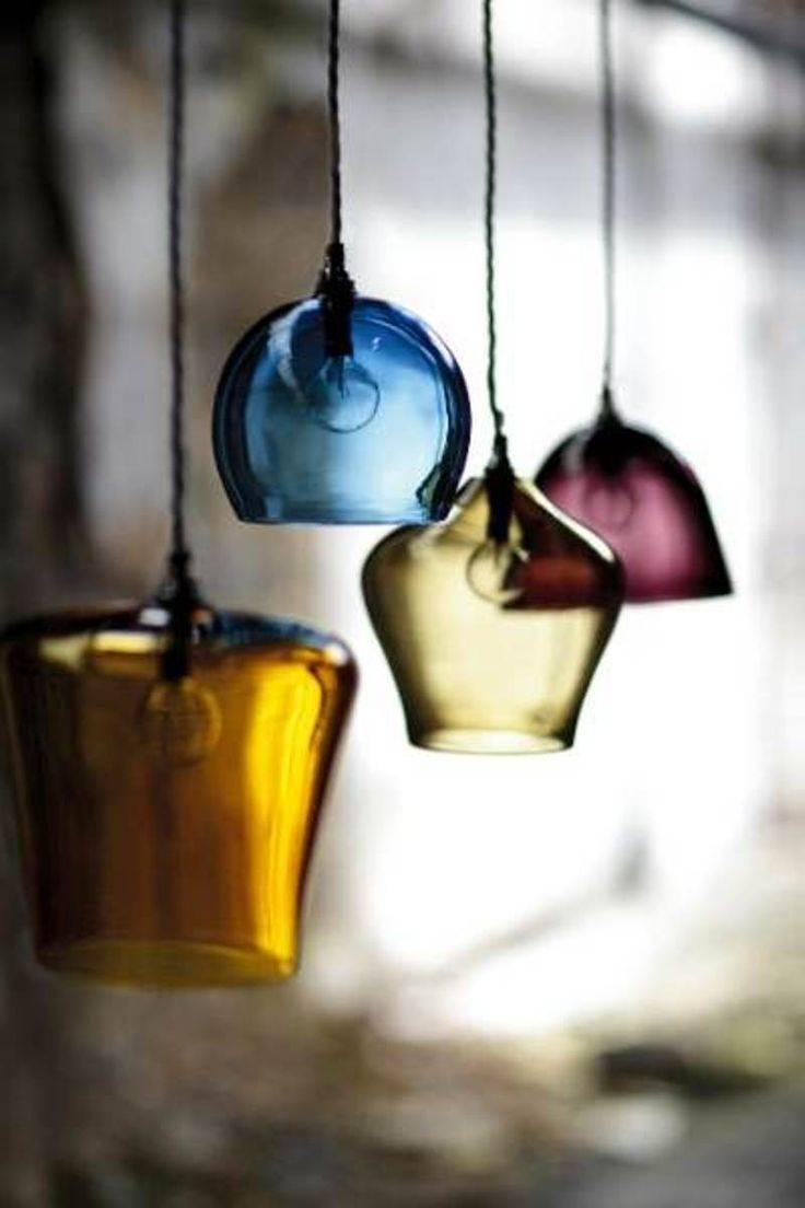 Hand Blown Glass Pendants Kitchen Pendant Lighting Ideas for Blown Glass Kitchen Pendant Lights (Image 12 of 15)