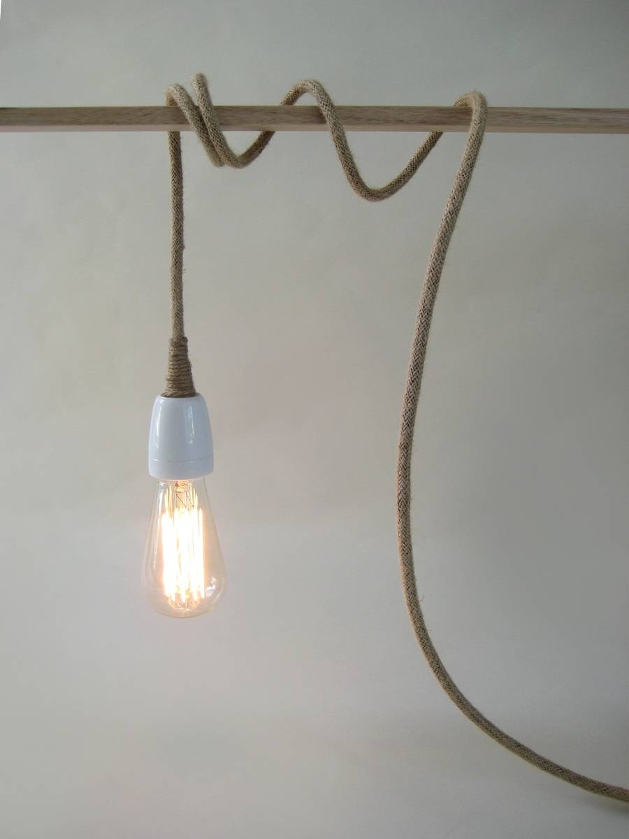 Hanging Plug In Pendant Light : Install Plug In Pendant Light Inside Hanging Plugin Pendant Lights (View 13 of 15)