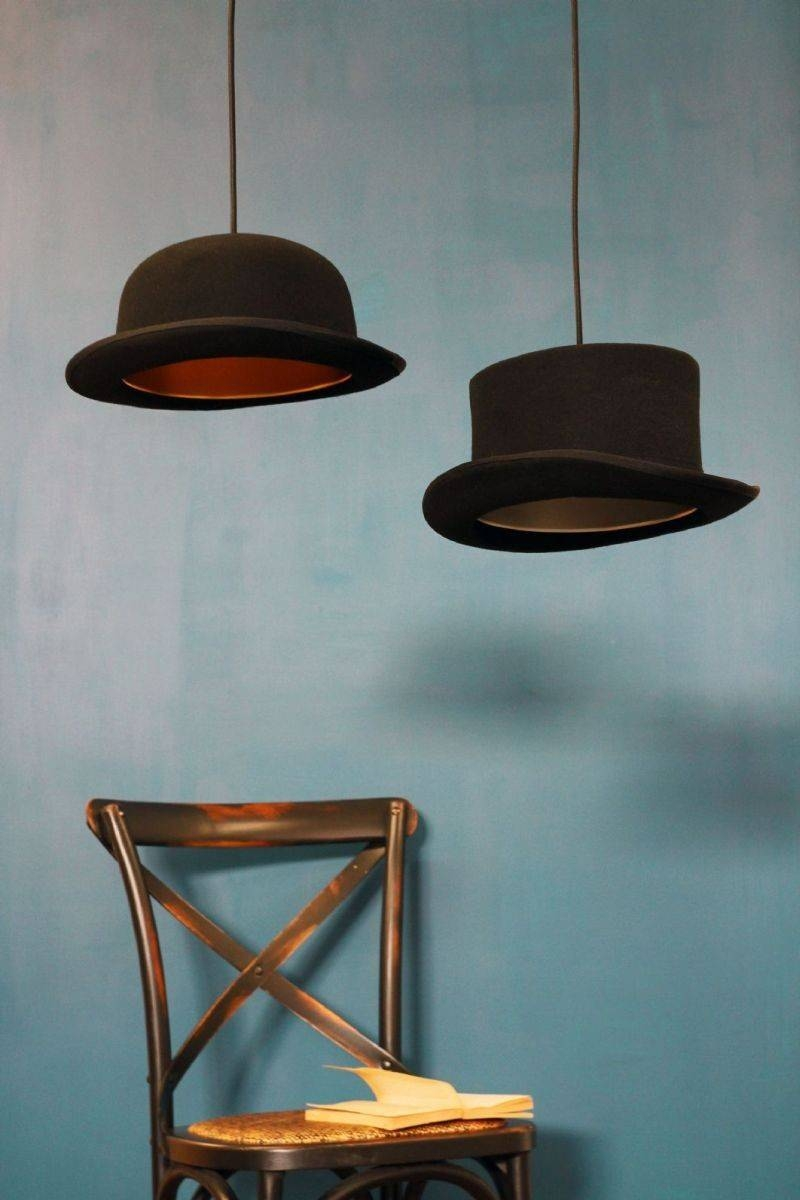 Hats Off: Jeeves And Wooster Pendant Lightsjake Phipps within Jeeves And Wooster Pendant Lights (Image 2 of 15)