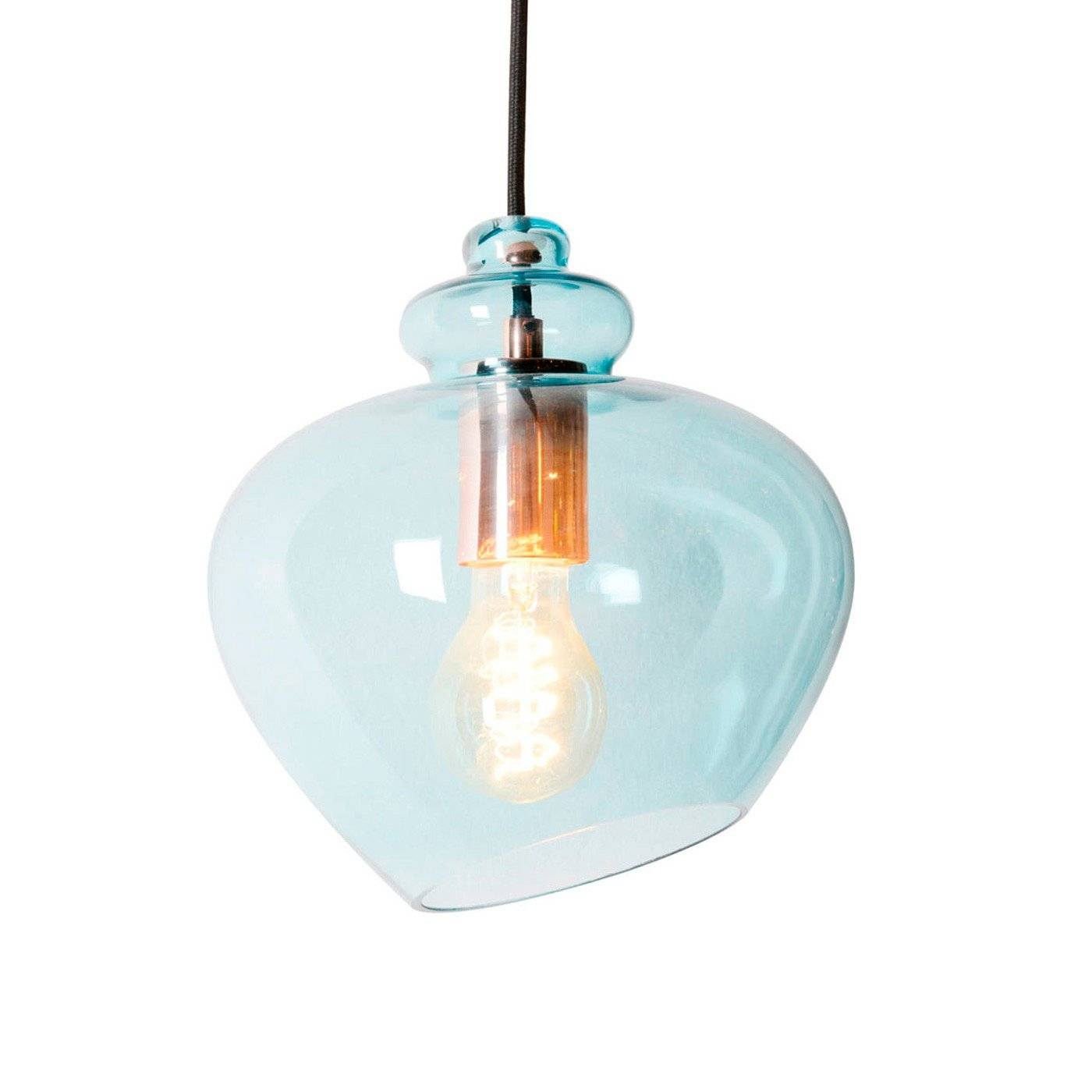Heal's Grace Pendant regarding Aqua Pendant Lights (Image 9 of 15)