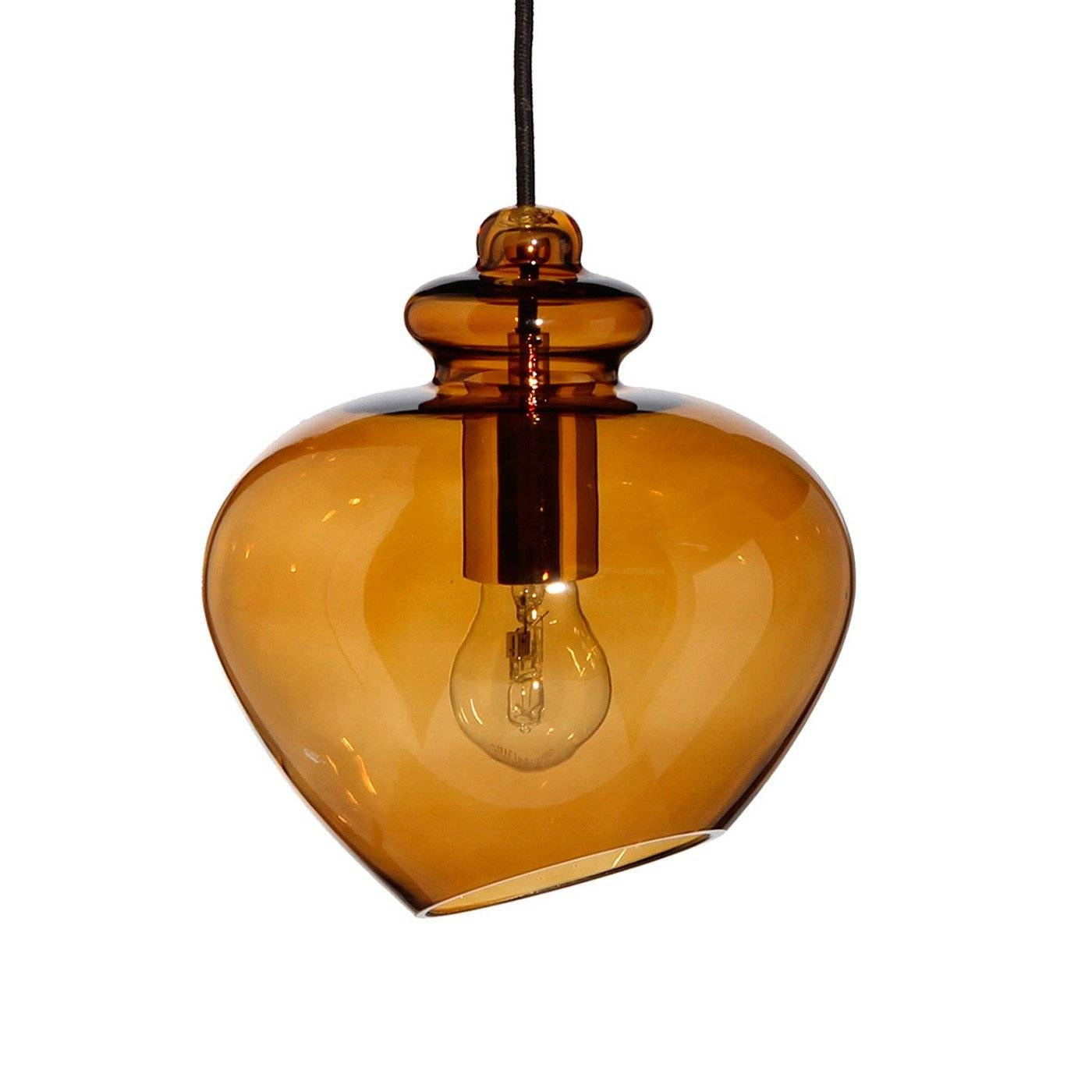 Heal's Grace Pendant with regard to Coloured Glass Pendant Light (Image 13 of 15)