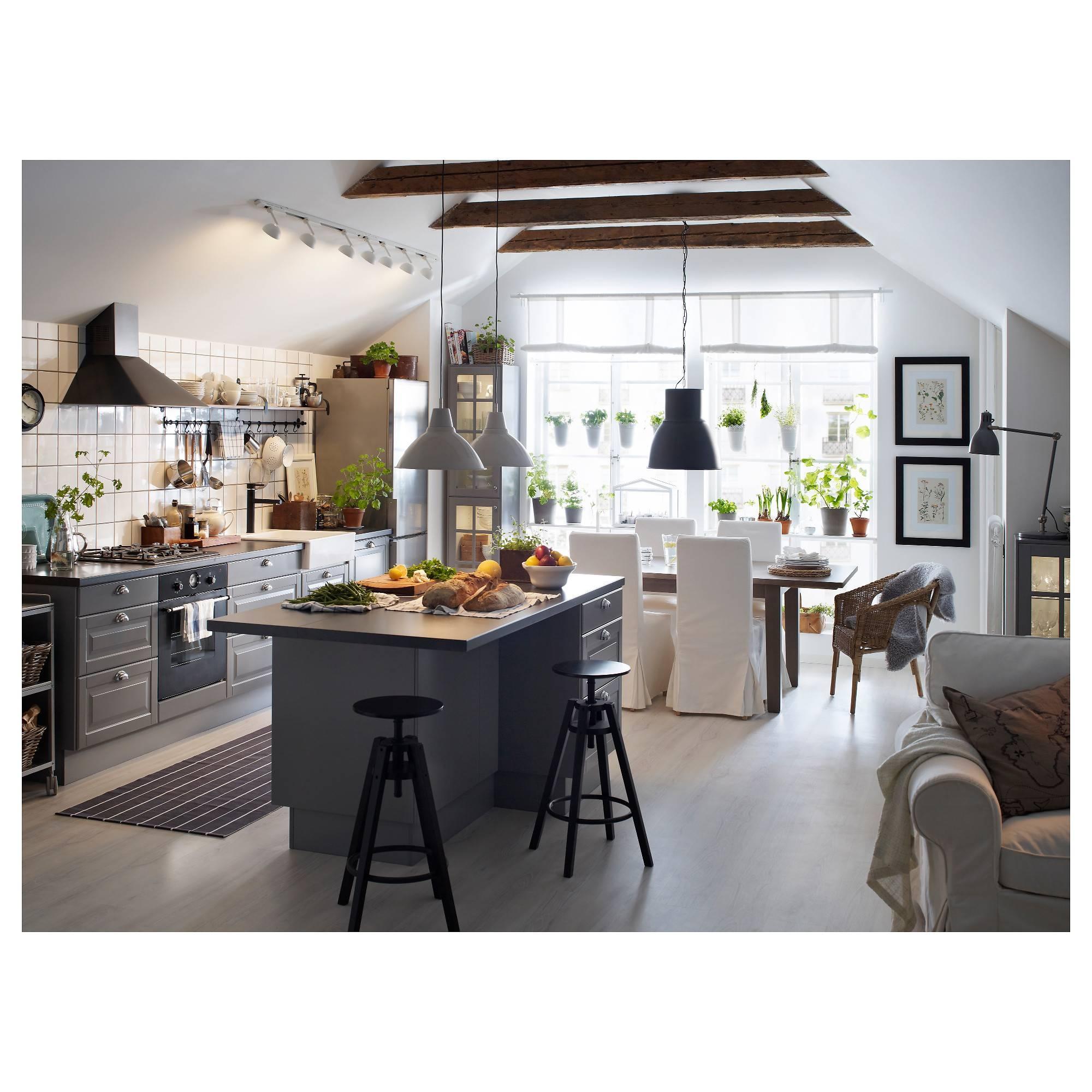 Hektar Pendant Lamp - Dark Gray, 22 Cm - Ikea with Ikea Kitchen Pendant Lights (Image 3 of 15)