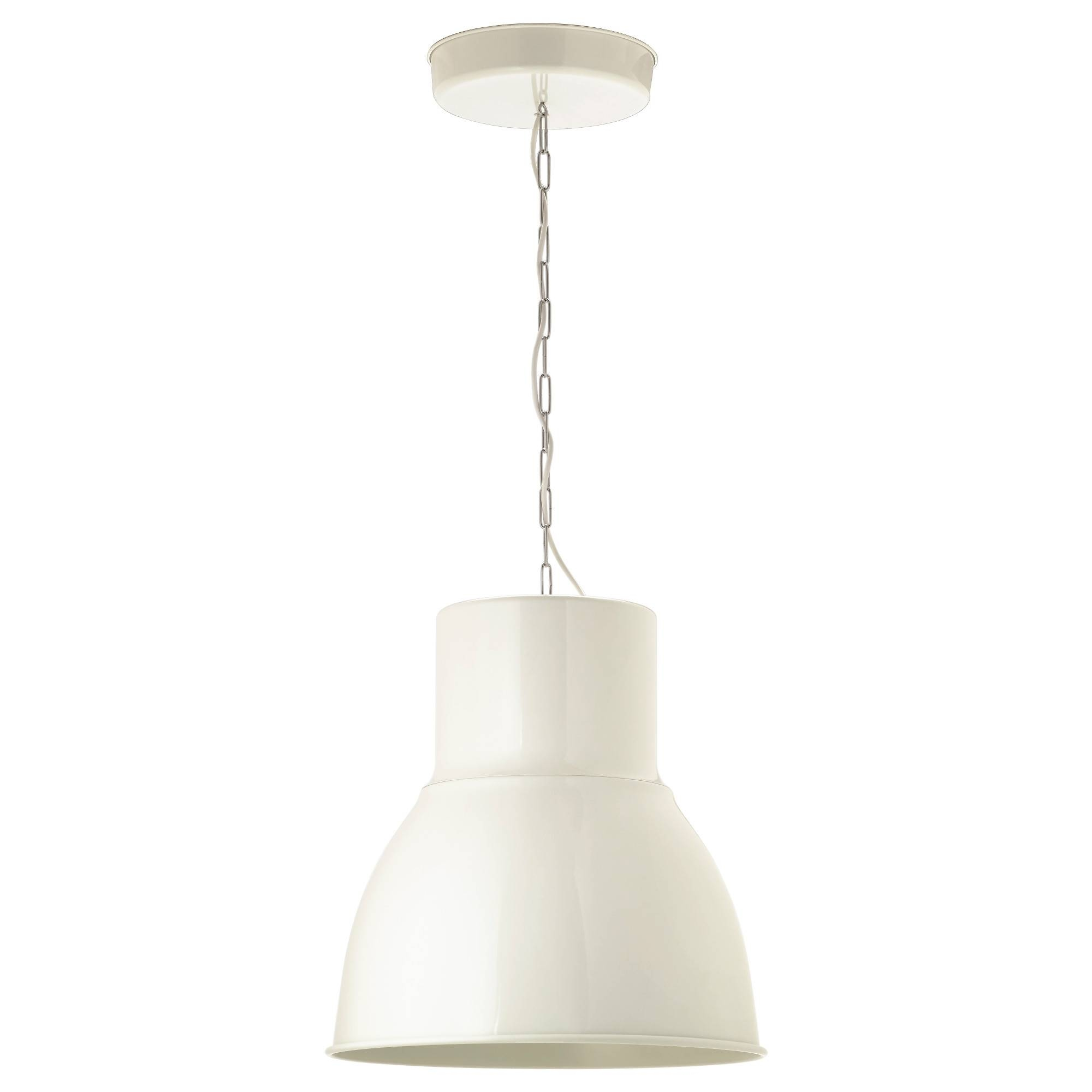 Hektar Pendant Lamp - White, 47 Cm - Ikea pertaining to Ikea Pendant Lights Fixtures (Image 5 of 15)