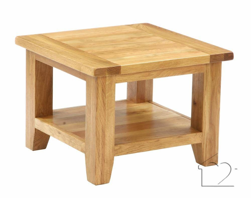 Heritage Petite Oak Square Coffee Table - £139.00 - A Fantastic with Oak Coffee Tables With Storage (Image 6 of 15)