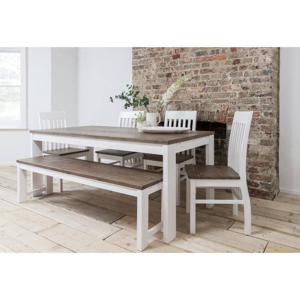 Hever Dining Table With 5 Chairs And Bench | Noa & Nani for Dining Sofa Chairs (Image 11 of 15)