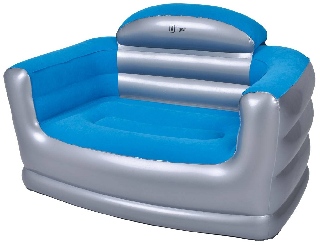 Hi Gear Inflatable Double Sofa | Go Outdoors inside Inflatable Sofas and Chairs (Image 4 of 15)