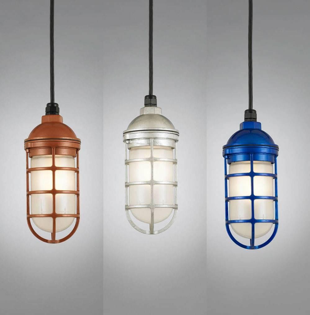 Hi Lite Manufacturing Rlm Saucer Vapor Jar Outdoor Pendant Light For Outdoor Pendant Lighting (View 3 of 15)