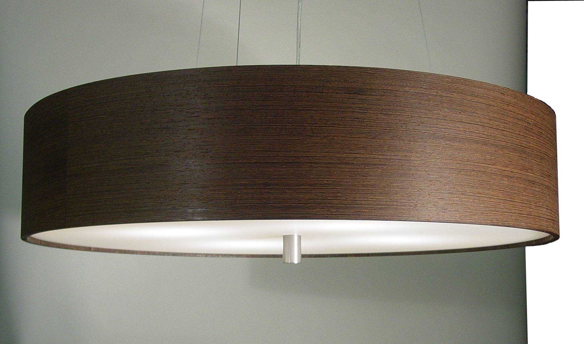 Holiday Gift Wood Veneer Pendant Lamp Homemade Wood Pendant Light inside Wood Veneer Pendant Lights (Image 7 of 15)
