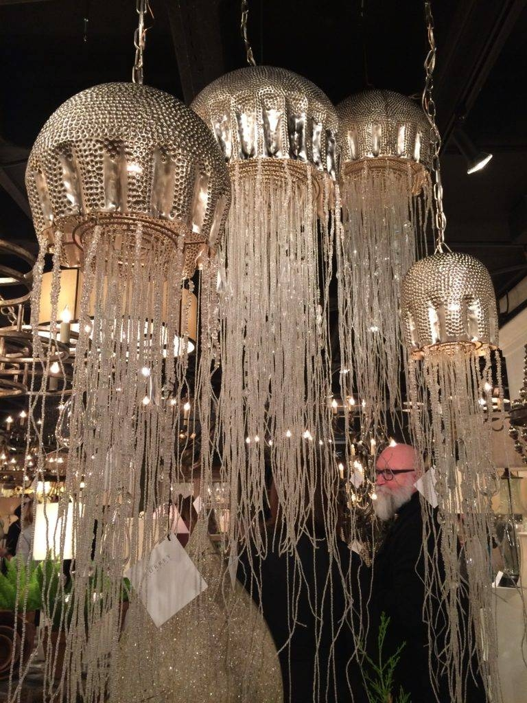 Home Decor And Interior Design Trend Forecast 2017 inside Jellyfish Pendant Lights (Image 7 of 15)