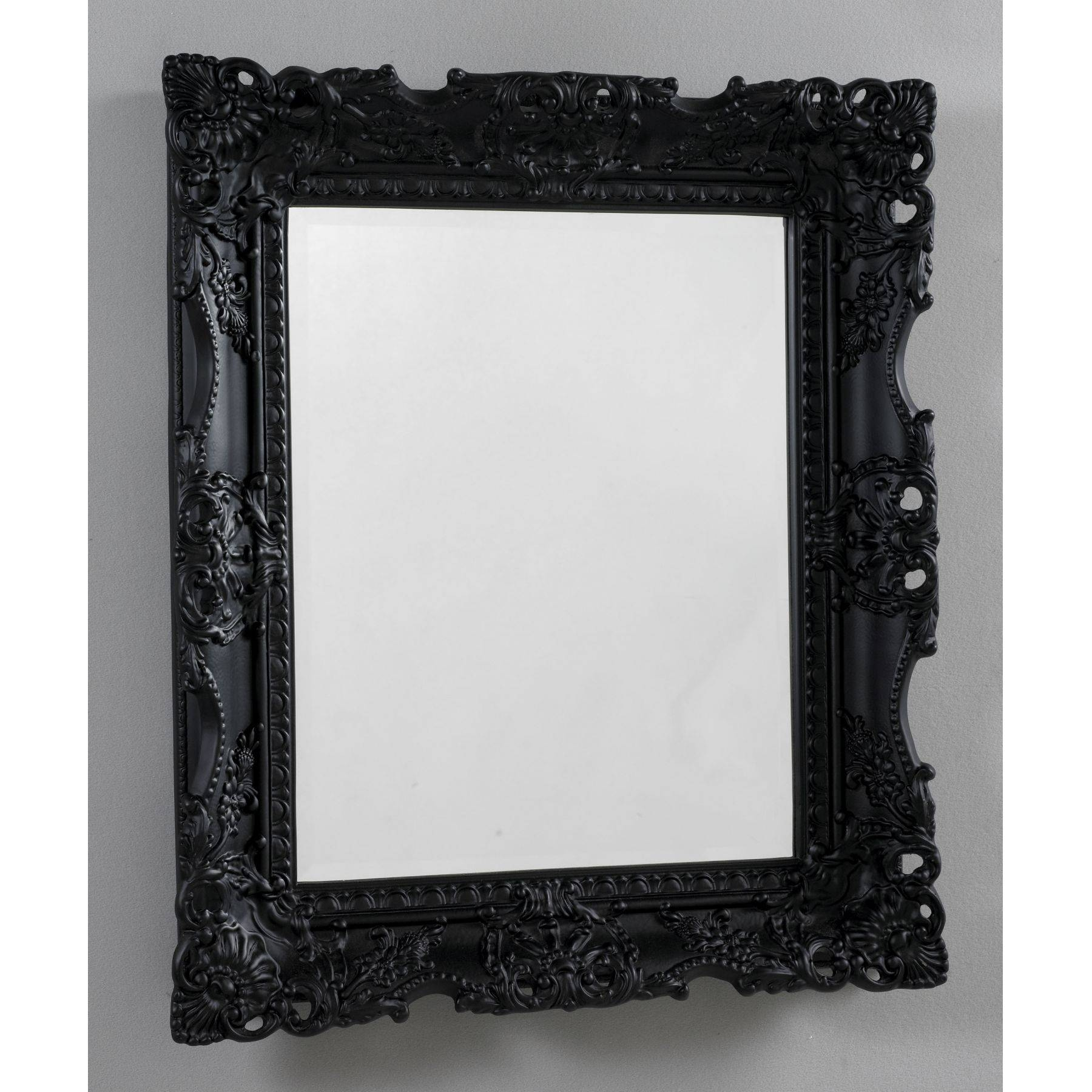 Home Decor: Antique French Black Mirror Black Mirror – Home Decor pertaining to Antique Black Mirrors (Image 5 of 15)