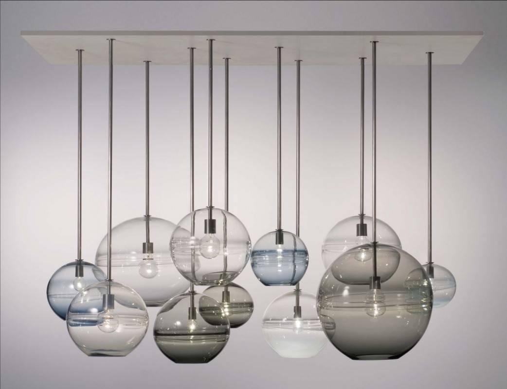 Home Decor + Home Lighting Blog » Blog Archive » Blown Glass Light inside Blown Glass Pendant Lighting for Kitchen (Image 12 of 15)