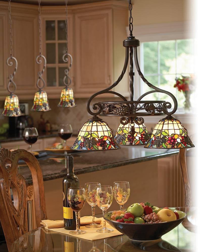 Home Decor + Home Lighting Blog » Pendant Lighting within Tiffany Mini Pendant Lights (Image 7 of 15)