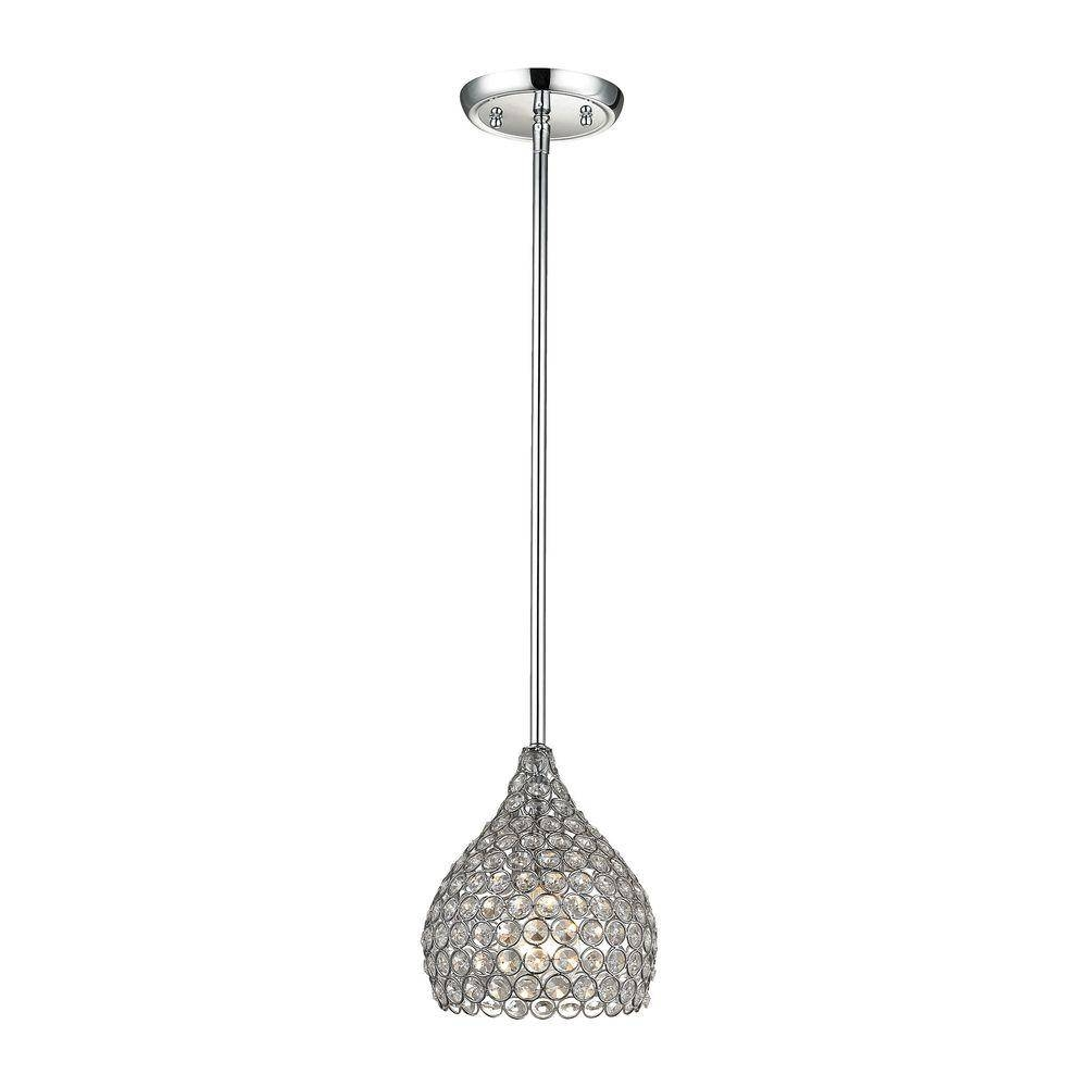Home Decorators Collection - Pendant Lights - Hanging Lights - The with Crystal Pendant Lights (Image 14 of 15)
