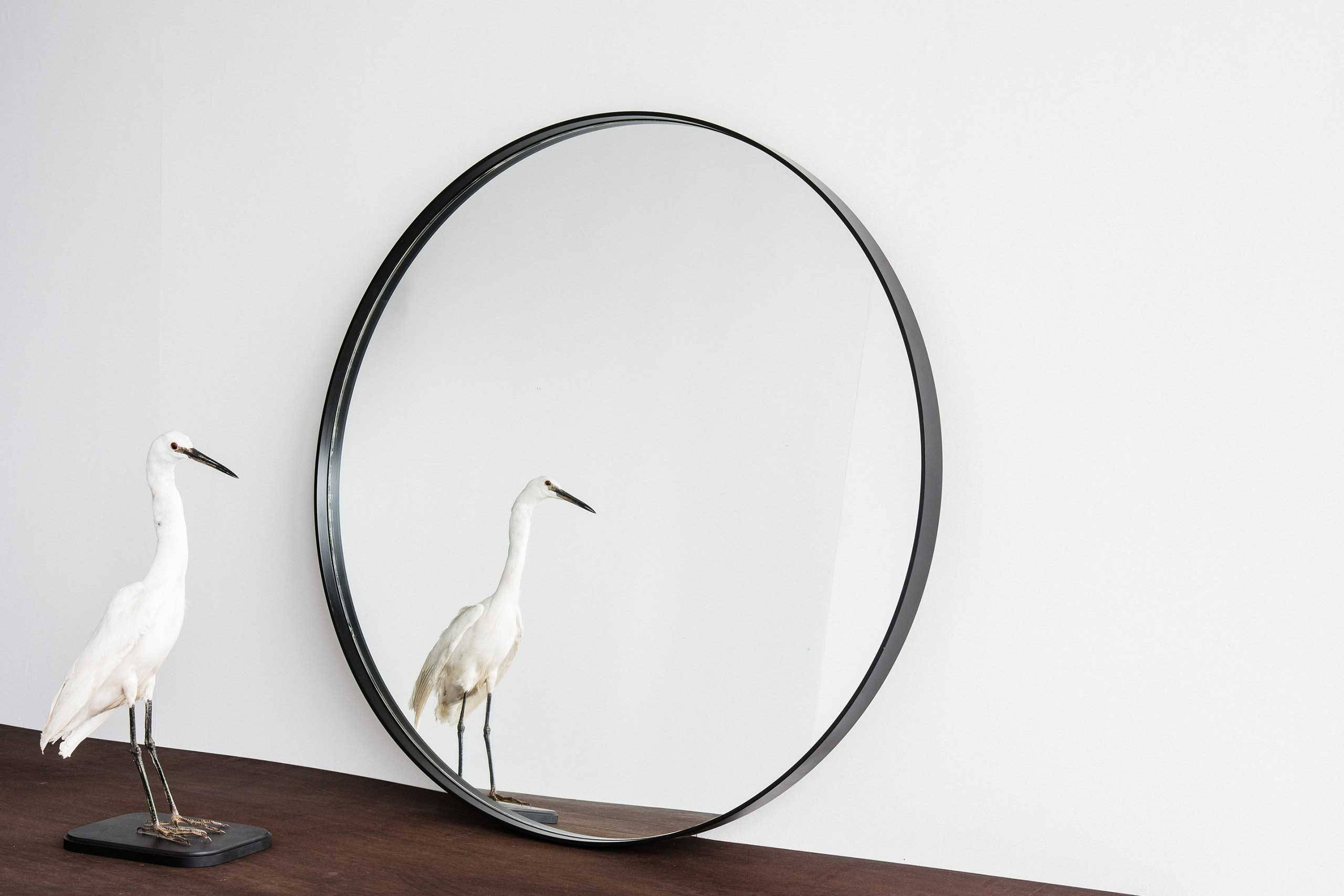 Home Industry | Furniture Designed & Handcrafted In New Zealand. ©2016 inside Large Black Round Mirrors (Image 8 of 15)