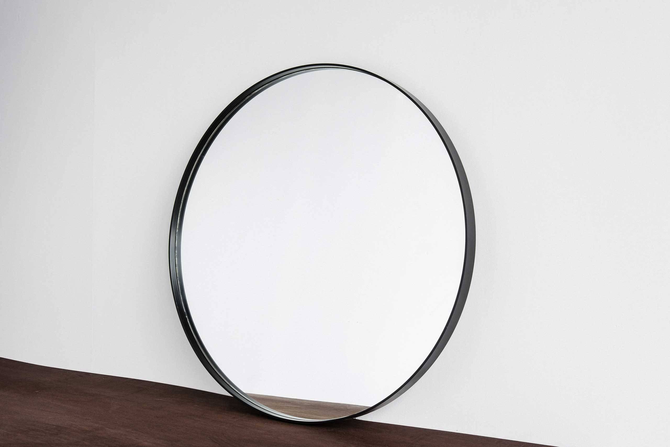 Featured Photo of Large Round Black Mirrors