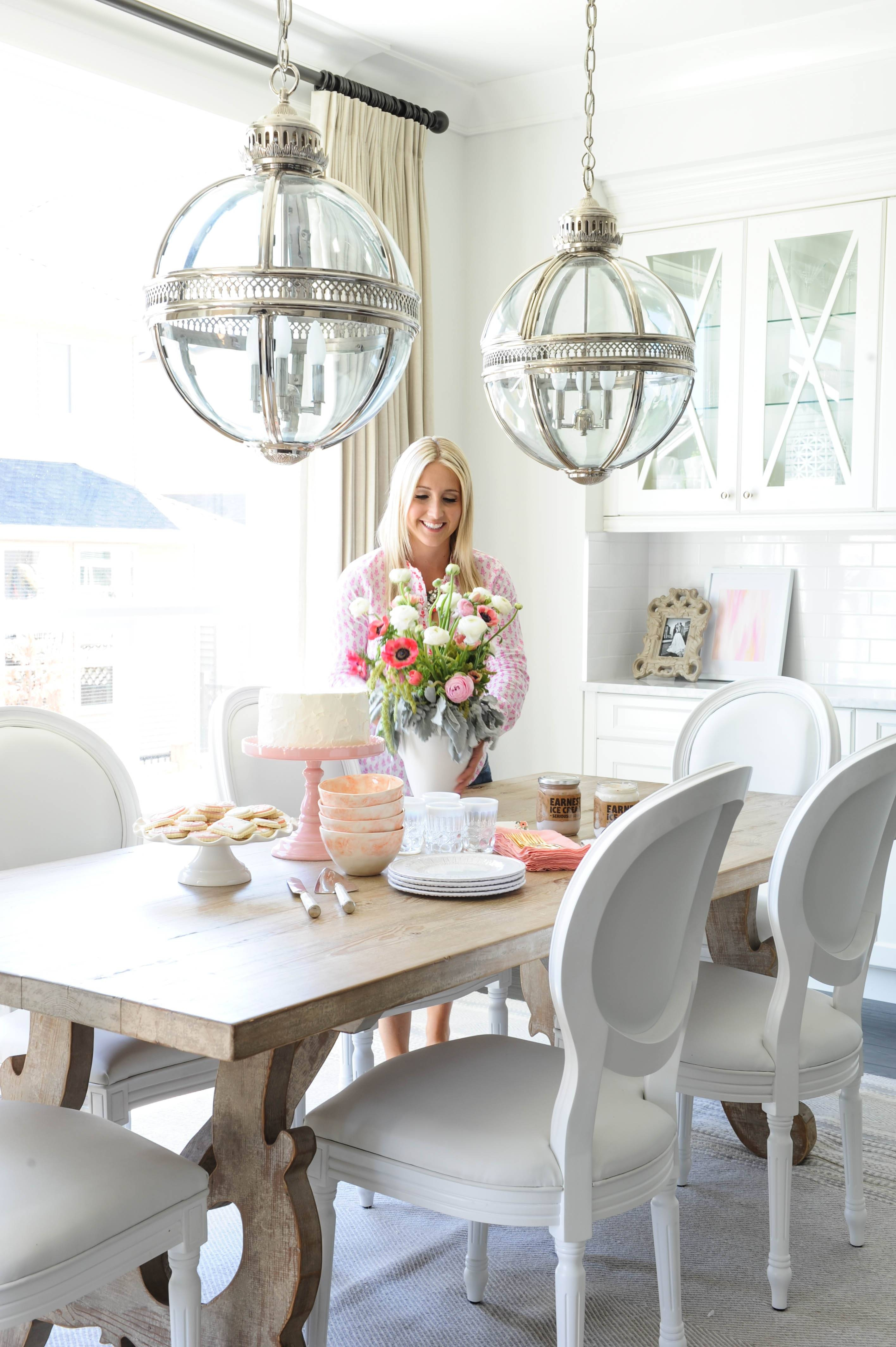 Home Tour | Monika Hibbs within Victorian Hotel Pendants (Image 11 of 15)