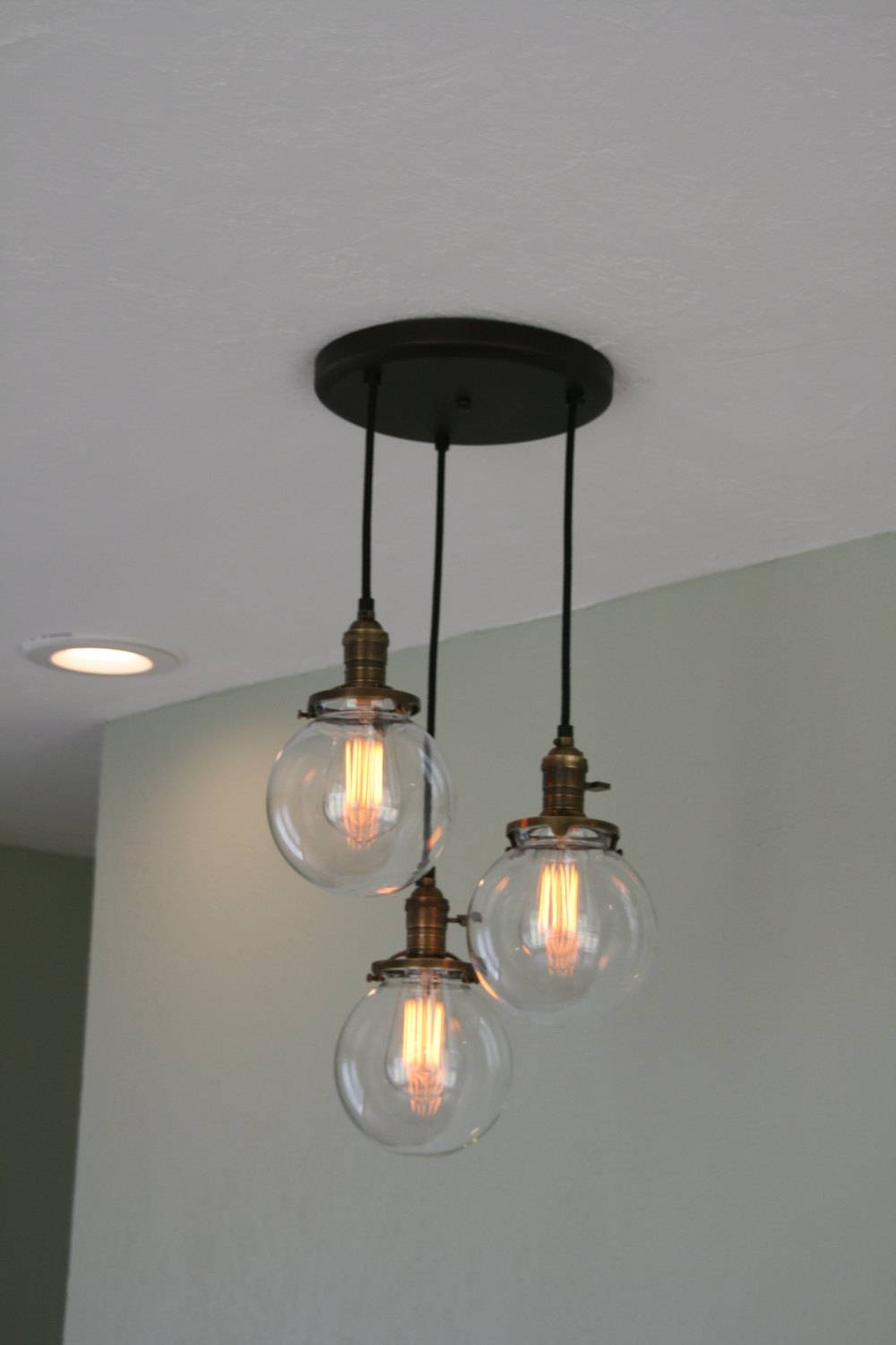 Homemade Chandelier Lowes - Editonline intended for Lowes Edison Pendant Lights (Image 3 of 15)