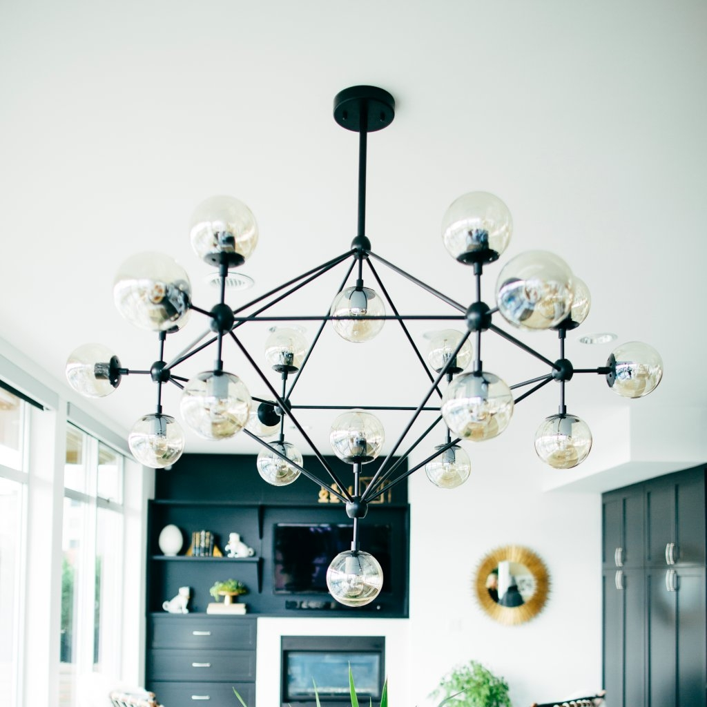 How To Clean Glass Pendant Lights | Popsugar Home inside Apothecary Pendant Lights (Image 11 of 15)