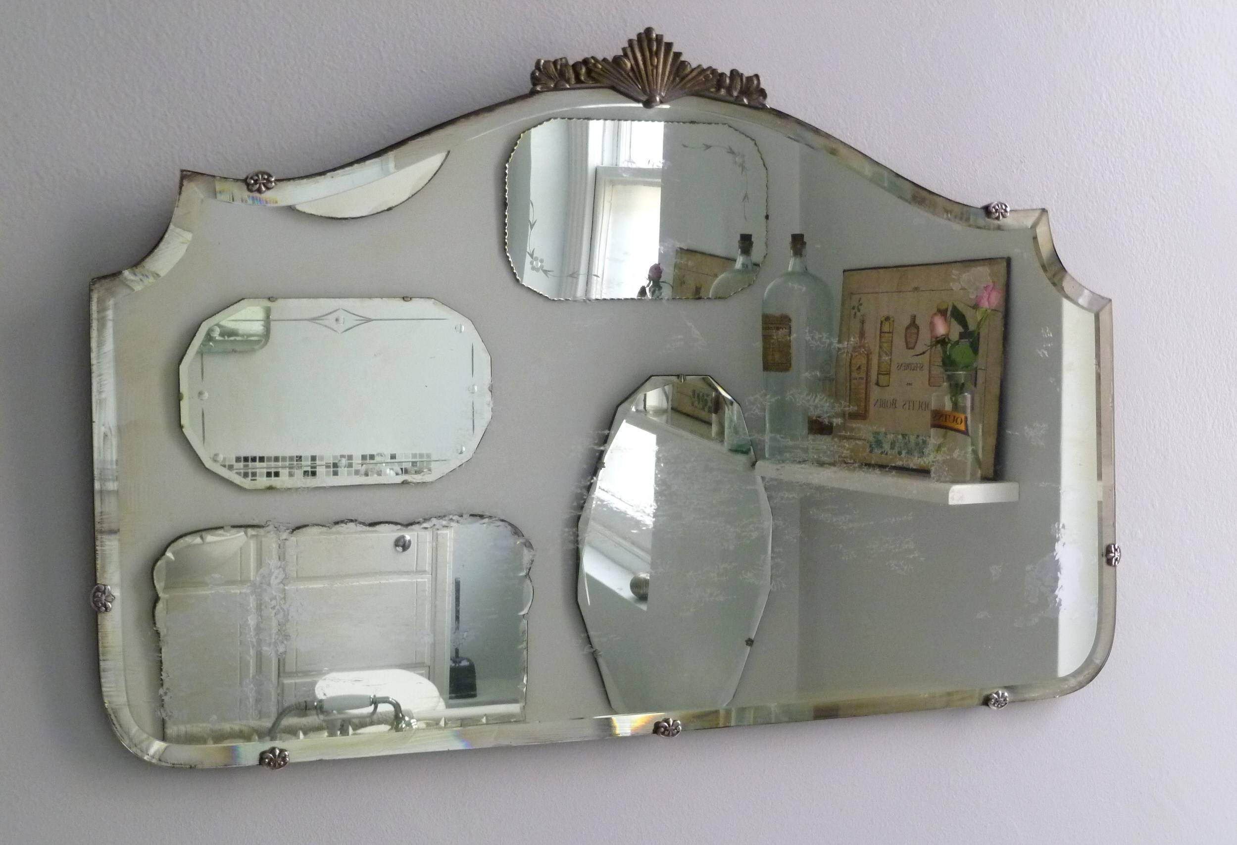 Featured Photo of Vintage Frameless Mirrors