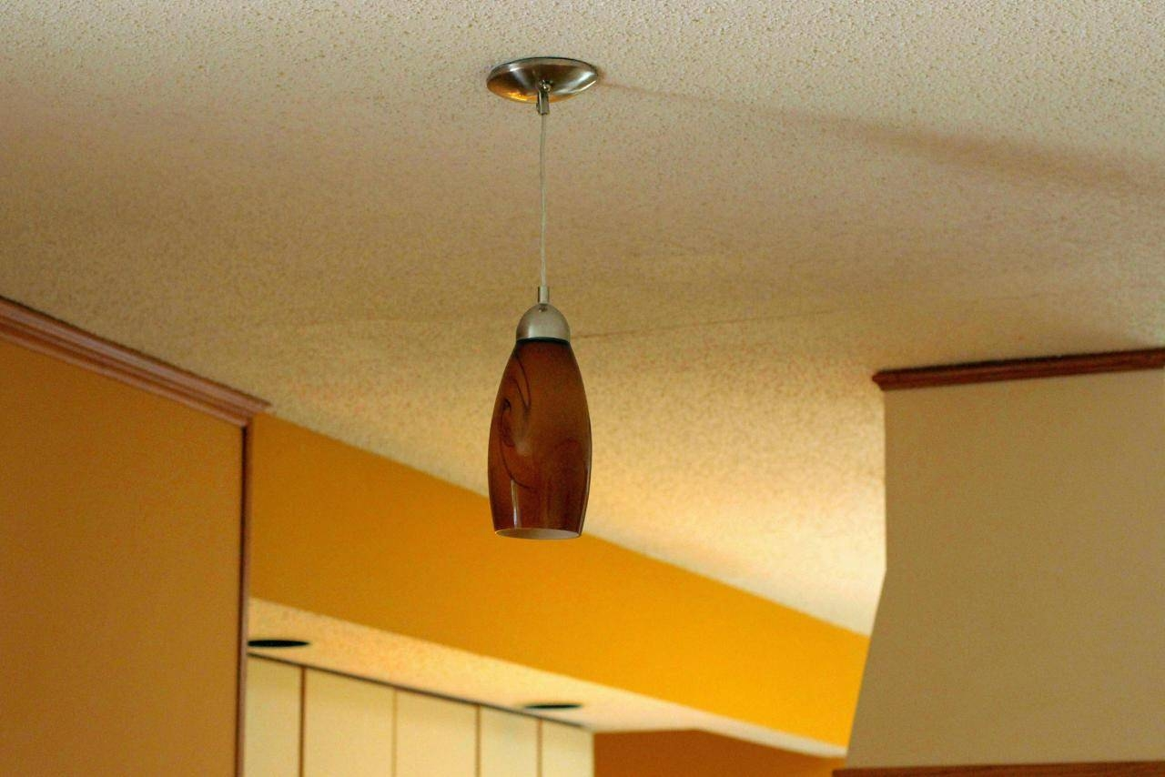 How To Install A Pendant Light | How-Tos | Diy with Installing Pendant Light Fixtures (Image 7 of 15)