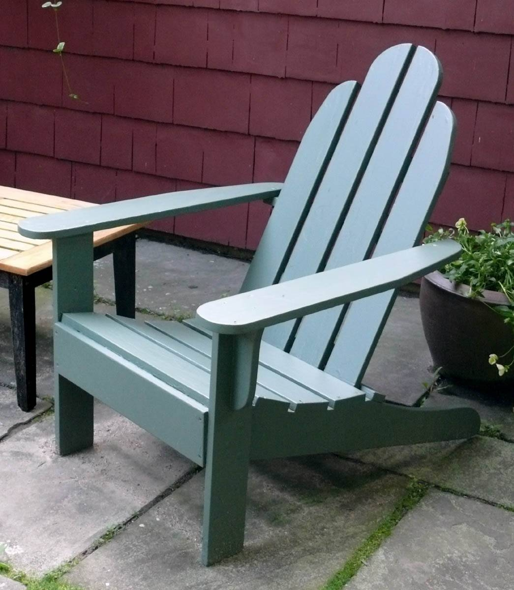How To Make Outdoor Furniture - Finewoodworking in Outdoor Sofas and Chairs (Image 9 of 15)