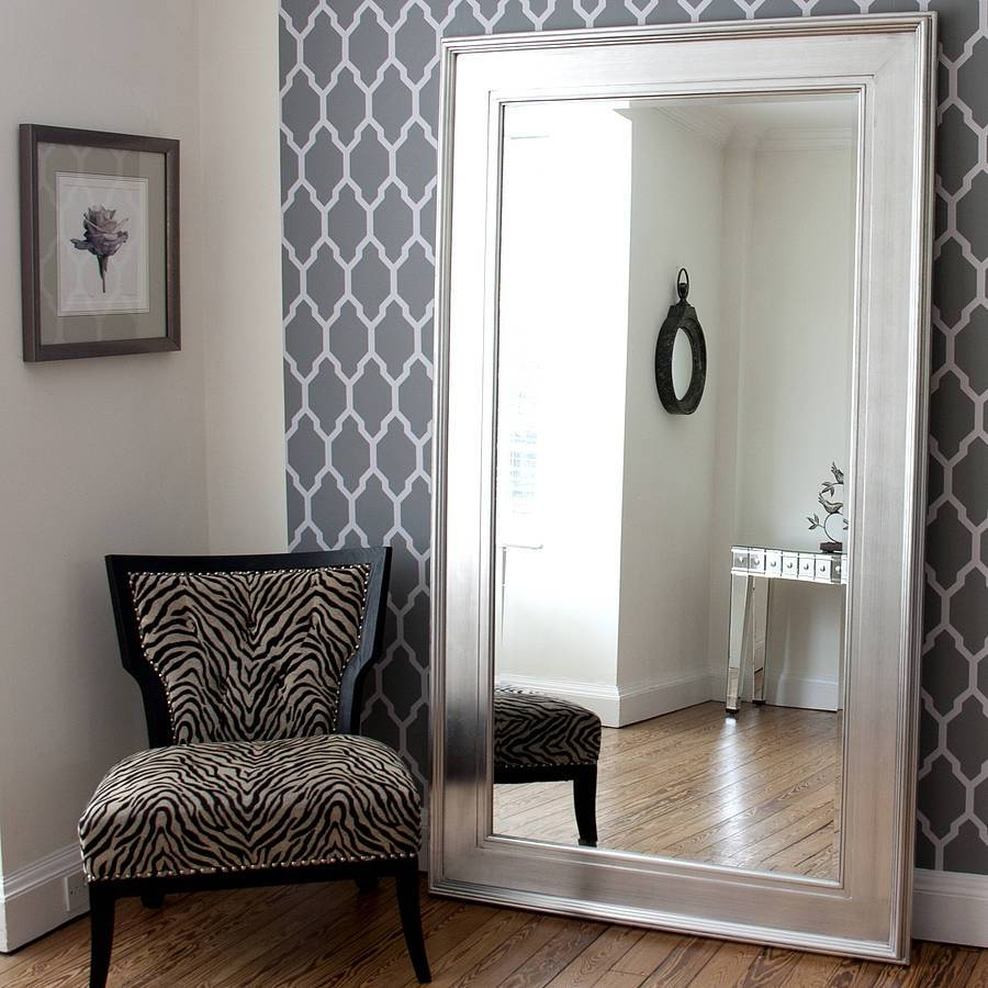 How To Renovate A Oversized Wall Mirrors In The Two Mirrors With Regard To Oversized Mirrors (View 9 of 15)