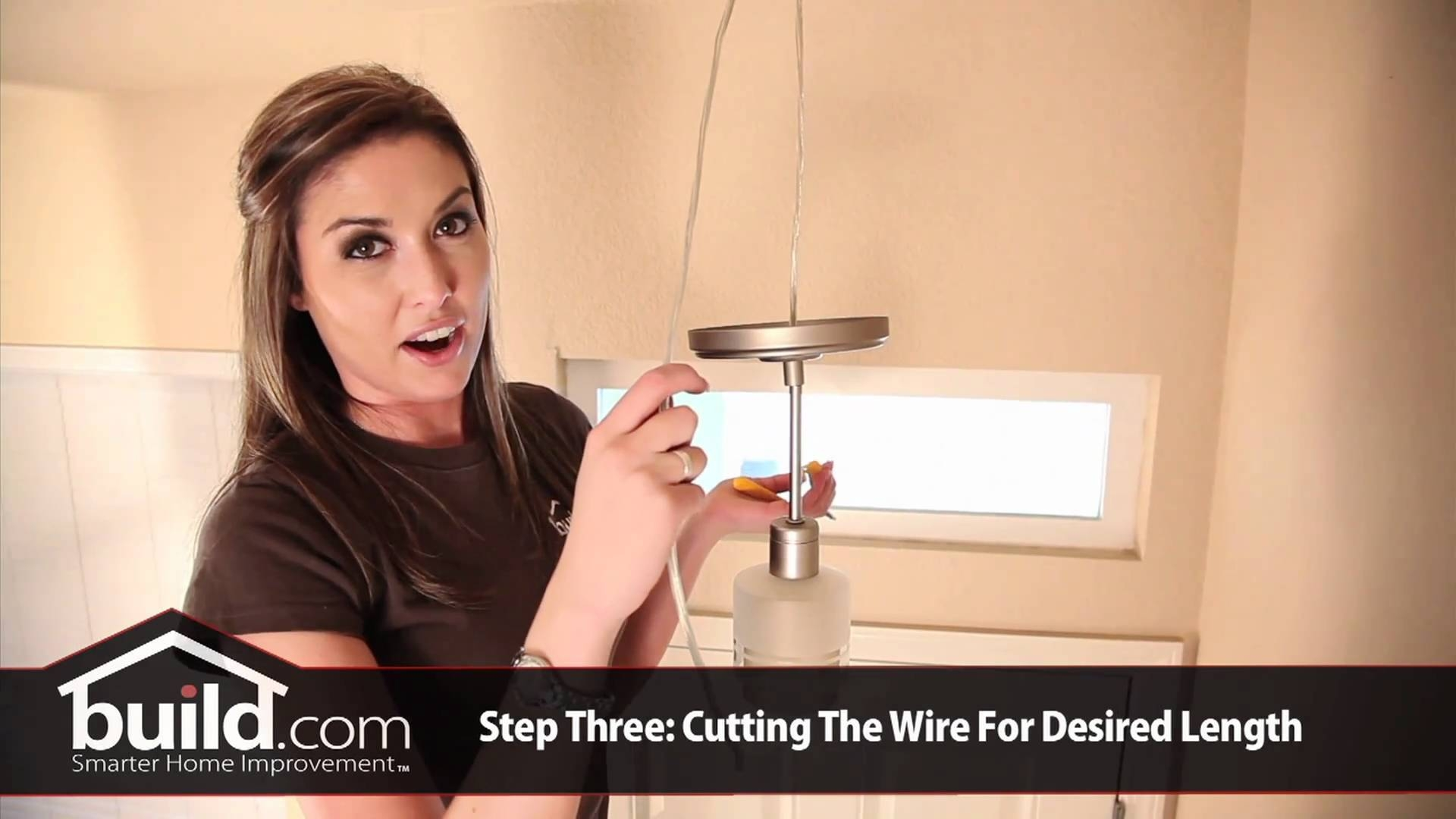 How To Replace And Install A Pendant Lighting Fixture - Youtube within Batten Fix Pendant Lighting (Image 8 of 15)