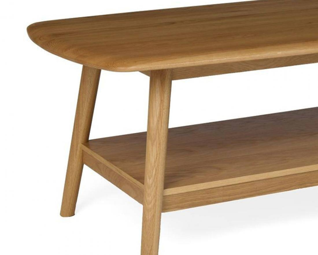Hutch® - Stockholm Retro Oak Living Range in Retro Oak Coffee Tables (Image 11 of 15)