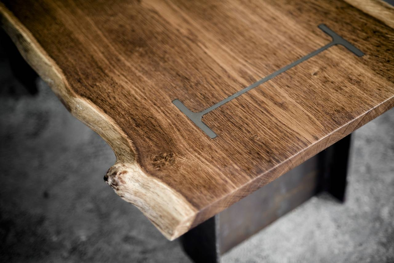 I Beam Coffee Table 1 – Bespoke, Handmade Furniture From English Oak Pertaining To Solid Oak Beam Coffee Table (View 8 of 15)
