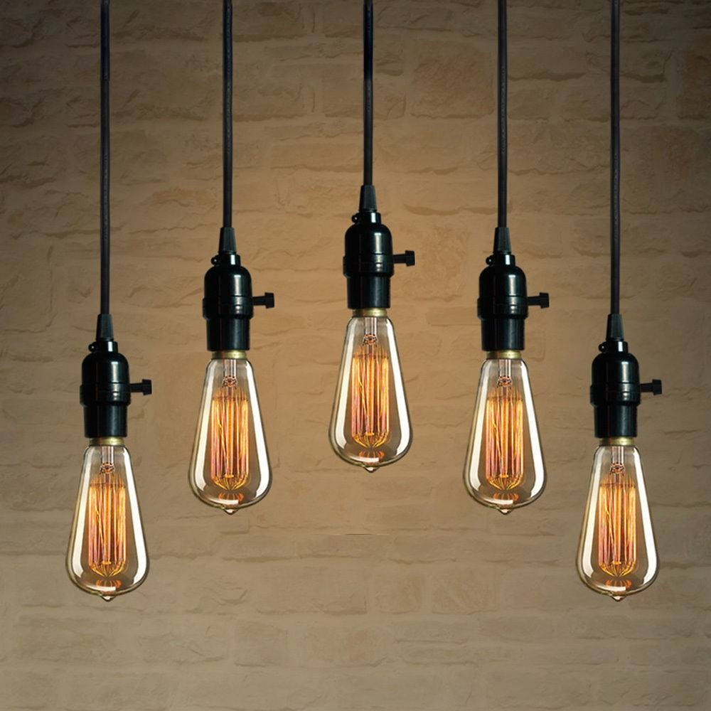 Ideas: What's Making Your House Look Sophisticated With Lowes inside Exposed Bulb Pendant Track Lighting (Image 12 of 15)