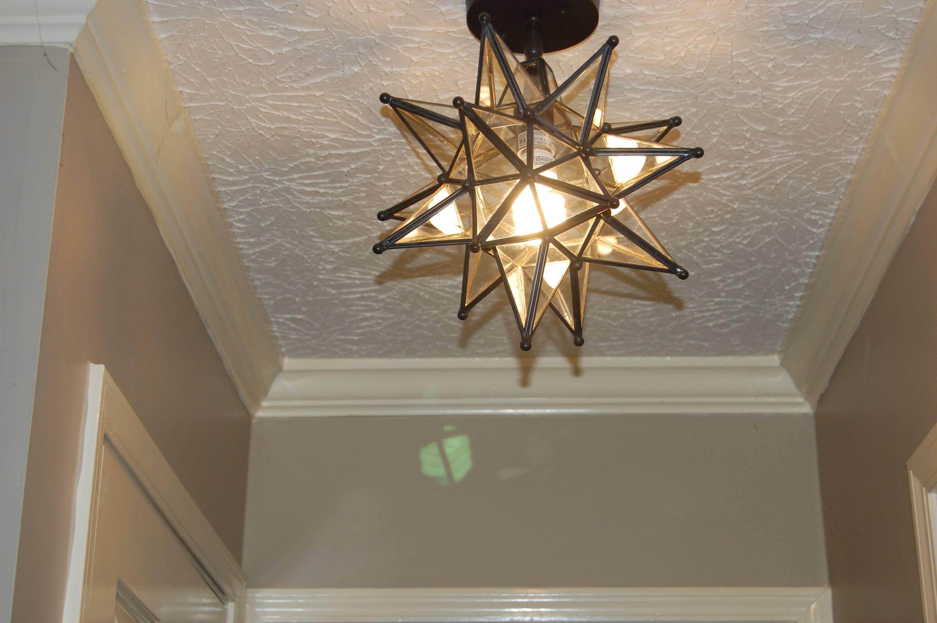 Ideas: Wonderful Interior Lights Design With Moravian Star within Hall Pendant Lights (Image 8 of 15)