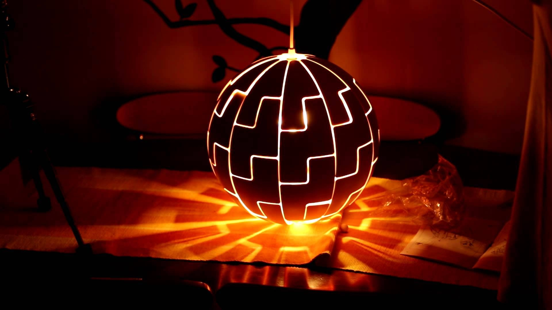 Ikea Death Star Lamp, Light (Timelaps) – Youtube Throughout Ikea Globe Lights (View 6 of 15)